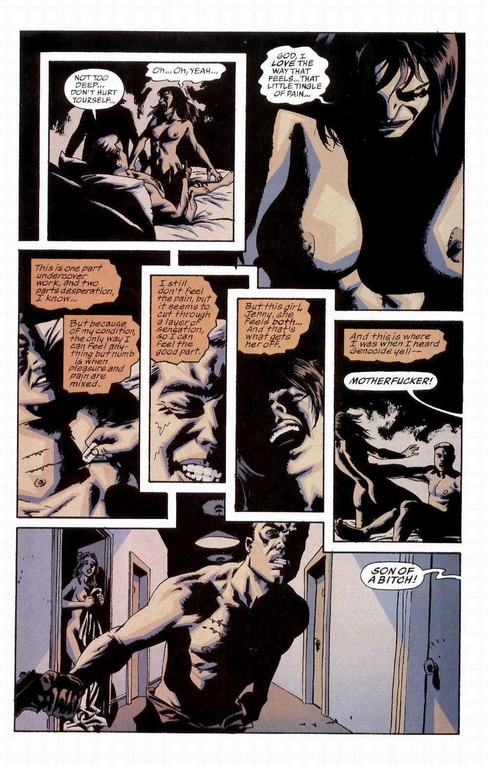 Read online Sleeper comic -  Issue #2 - 21
