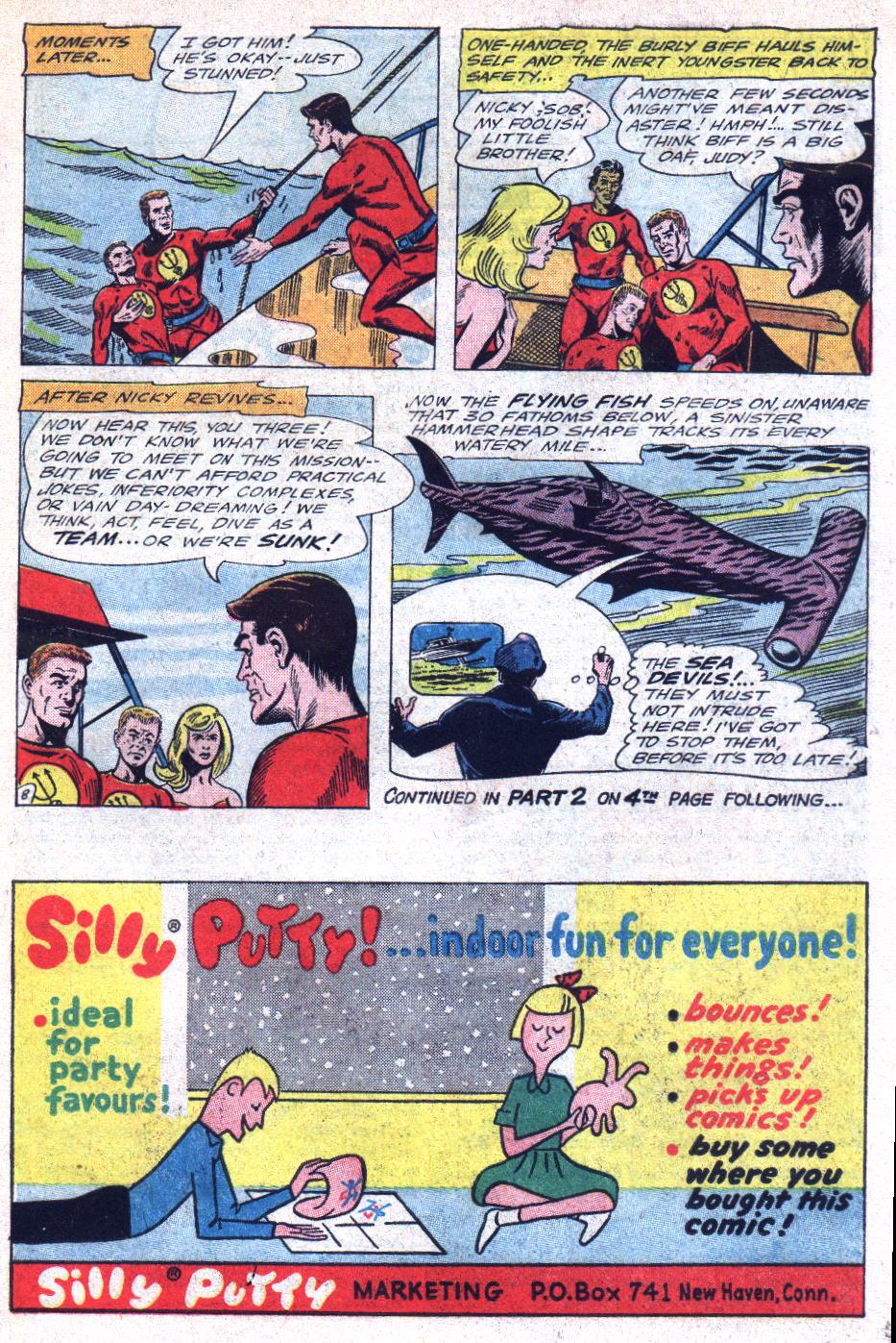 Read online Sea Devils comic -  Issue #22 - 11