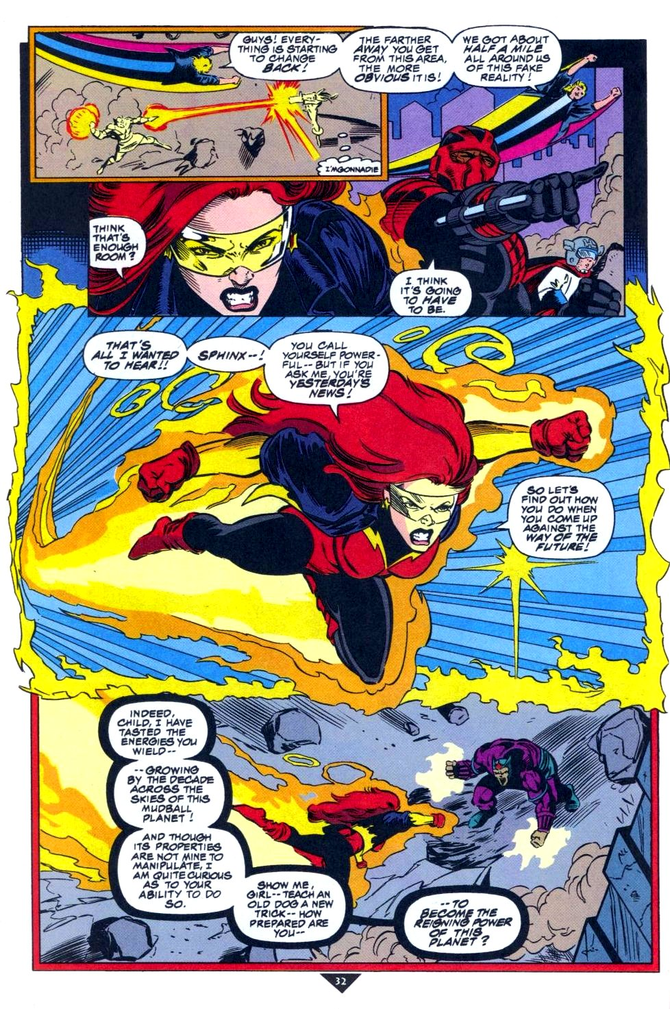 The New Warriors Issue #50 #54 - English 25