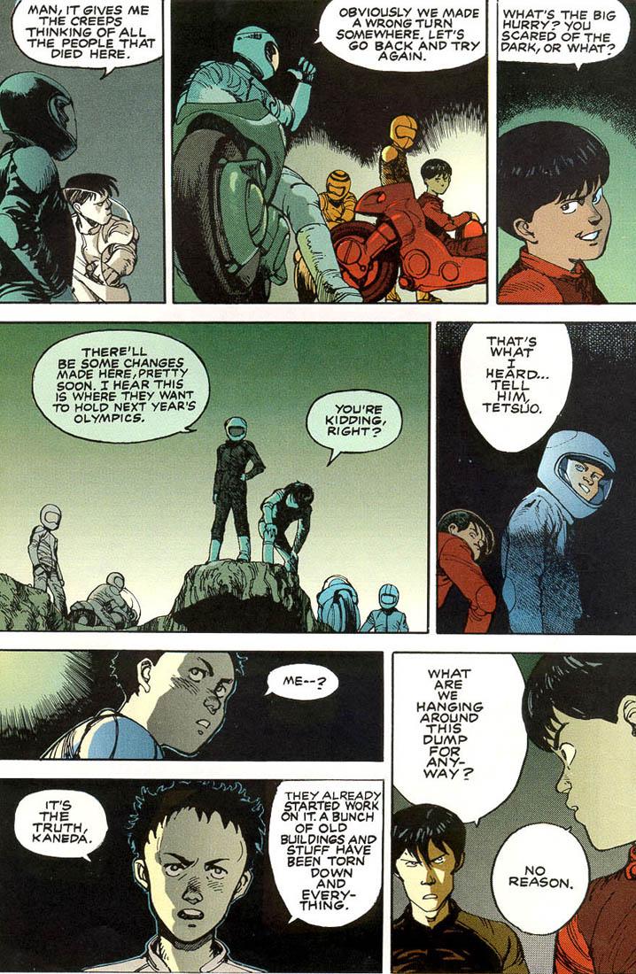 Read online Akira comic -  Issue #1 - 16