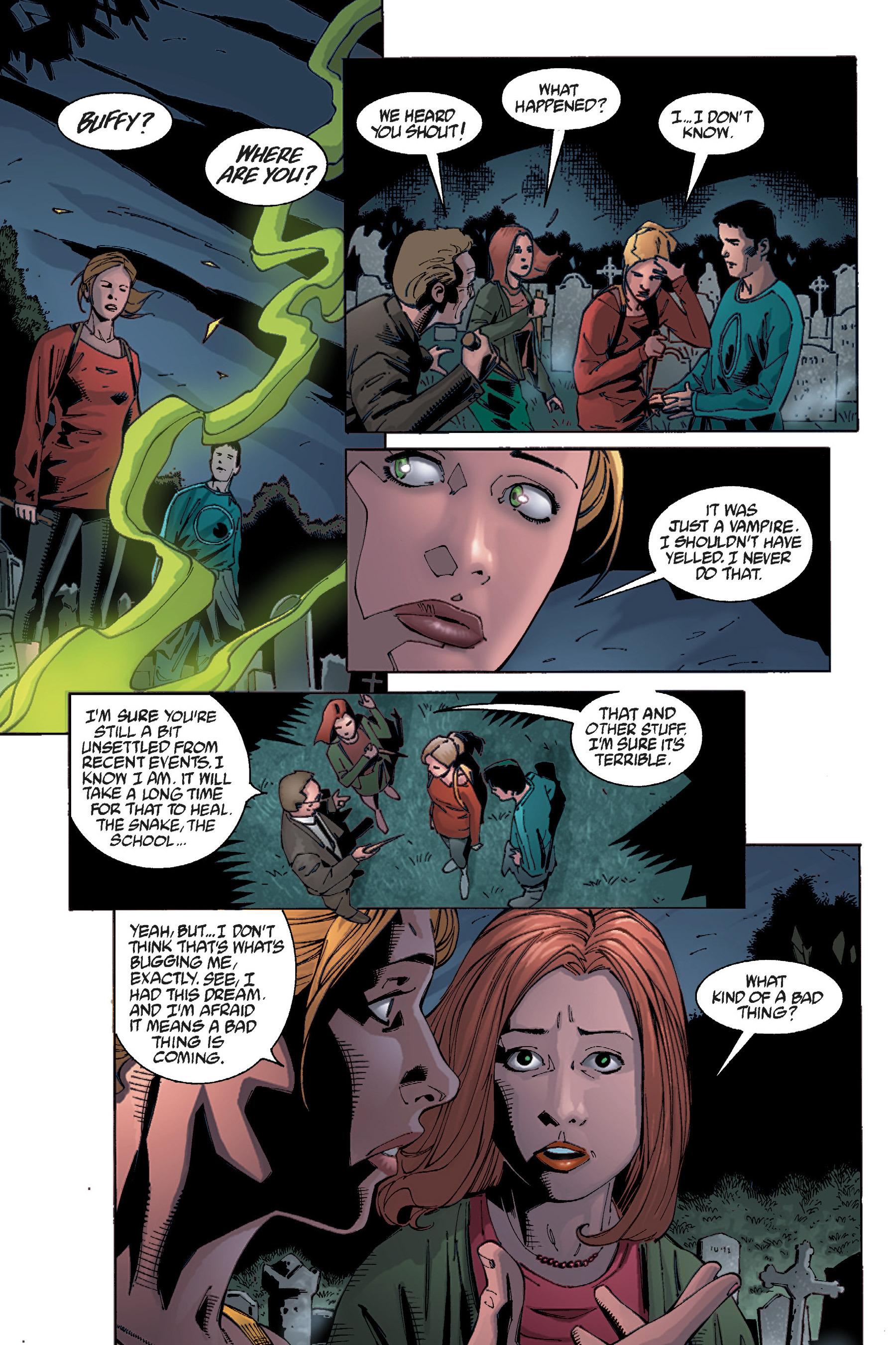 Read online Buffy the Vampire Slayer: Omnibus comic -  Issue # TPB 5 - 22