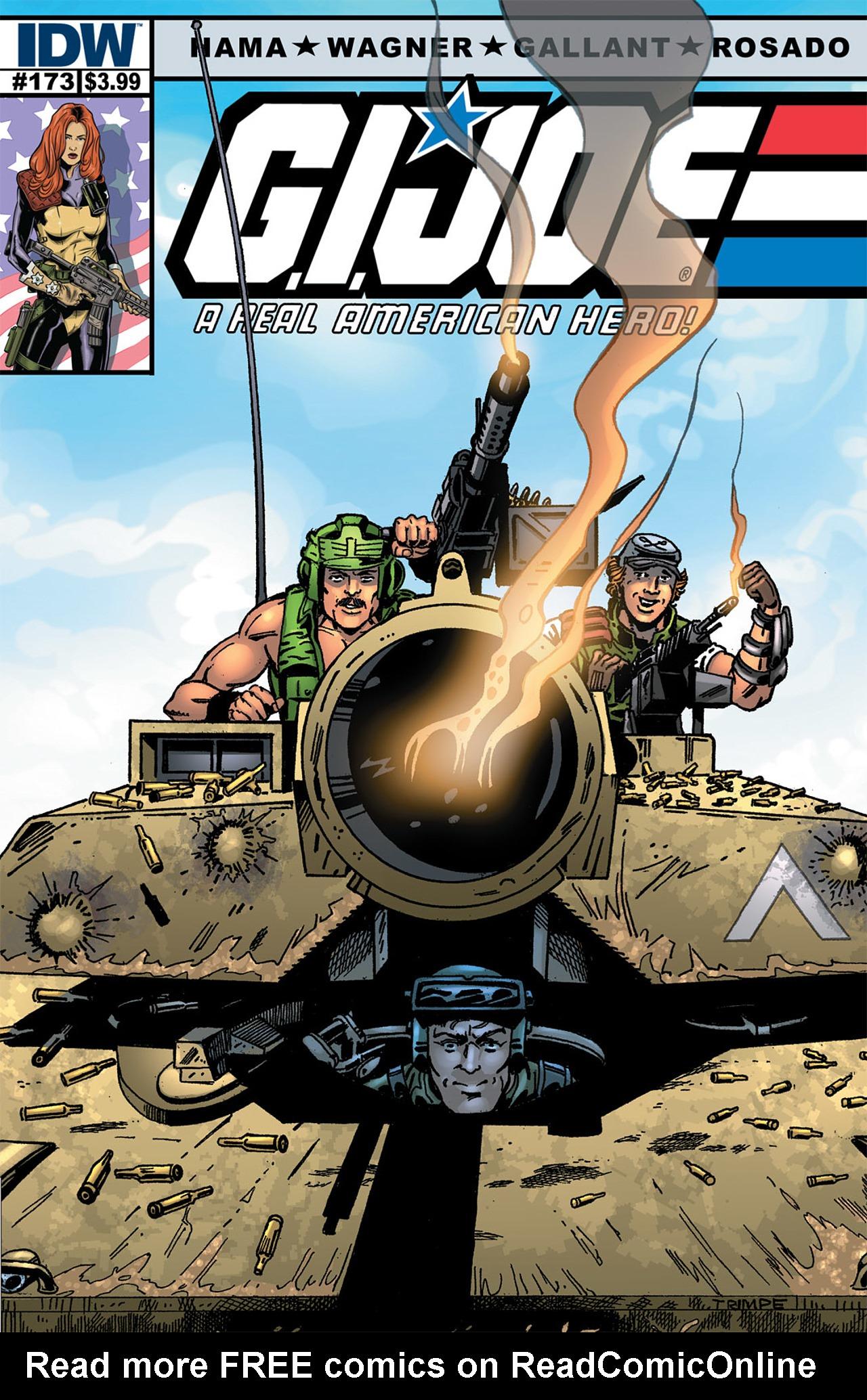 G.I. Joe: A Real American Hero 173 Page 1