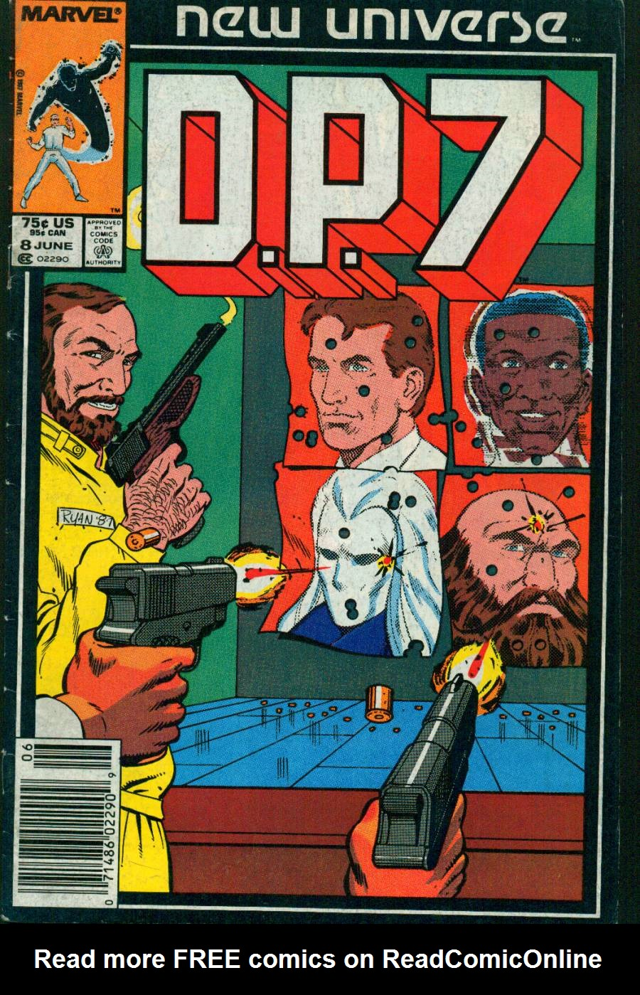 Read online DP7 comic -  Issue #8 - 1