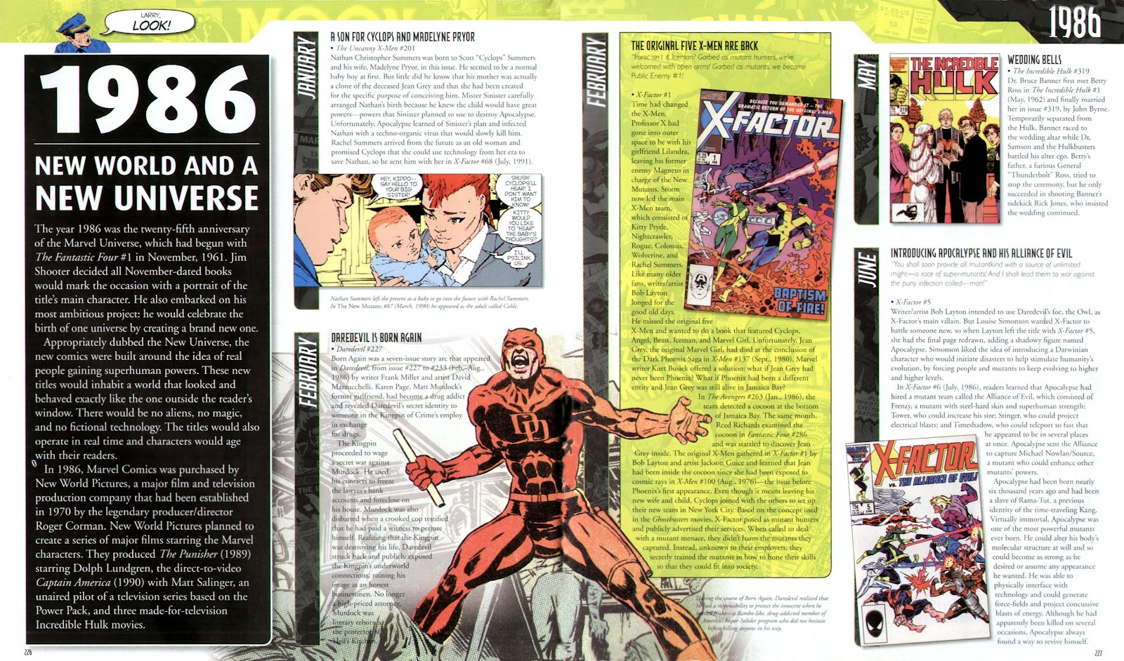 Read online Marvel Chronicle comic -  Issue # TPB (Part 3) - 23