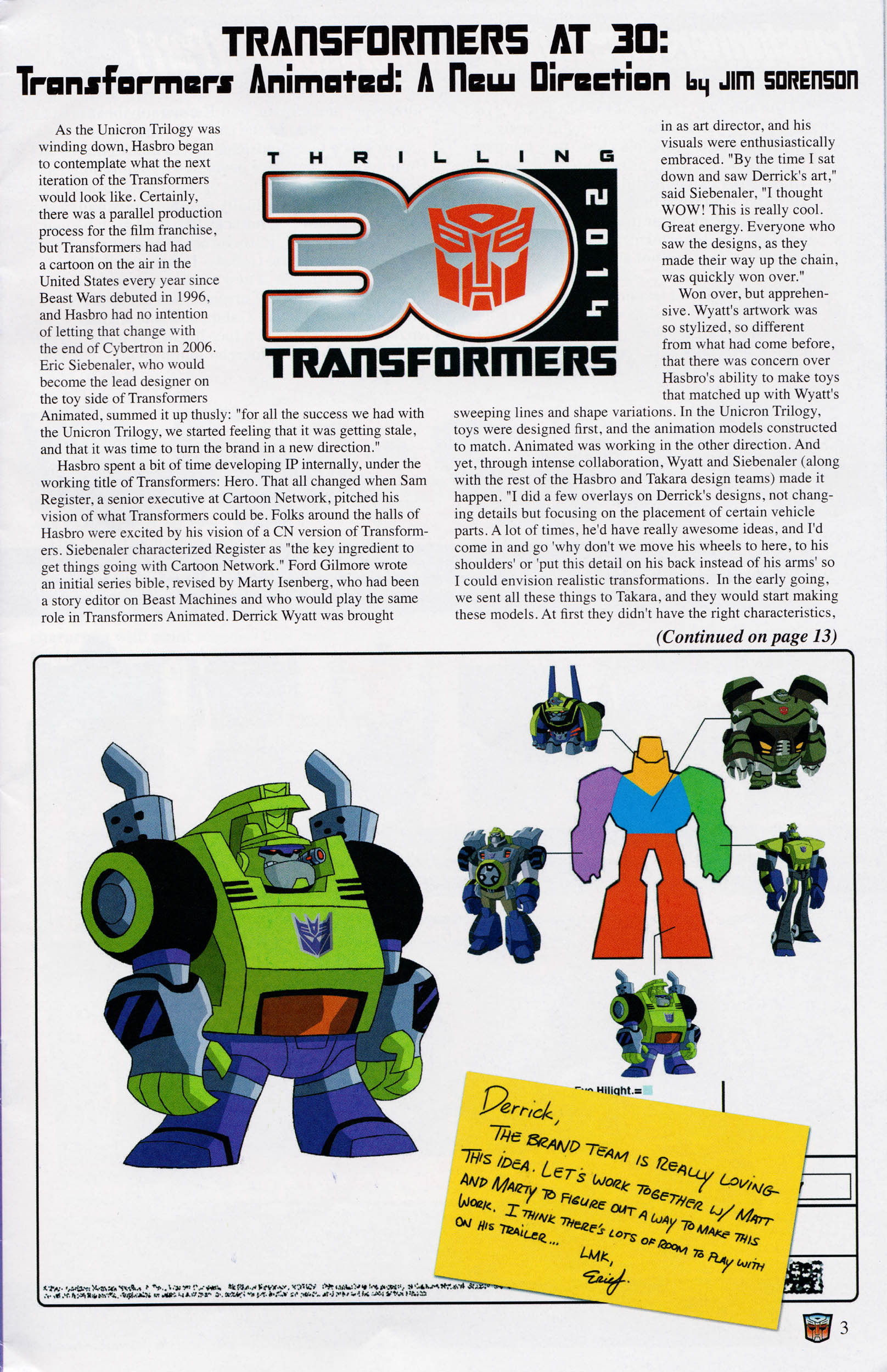 Read online Transformers: Collectors' Club comic -  Issue #59 - 3