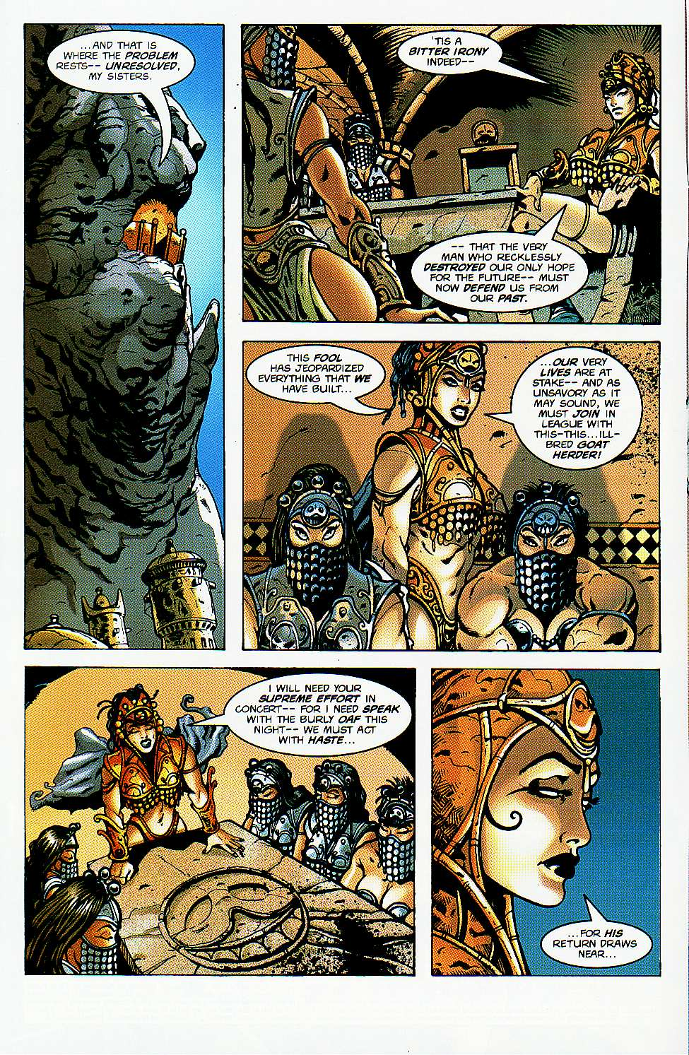 Read online Conan: Return of Styrm comic -  Issue #1 - 5
