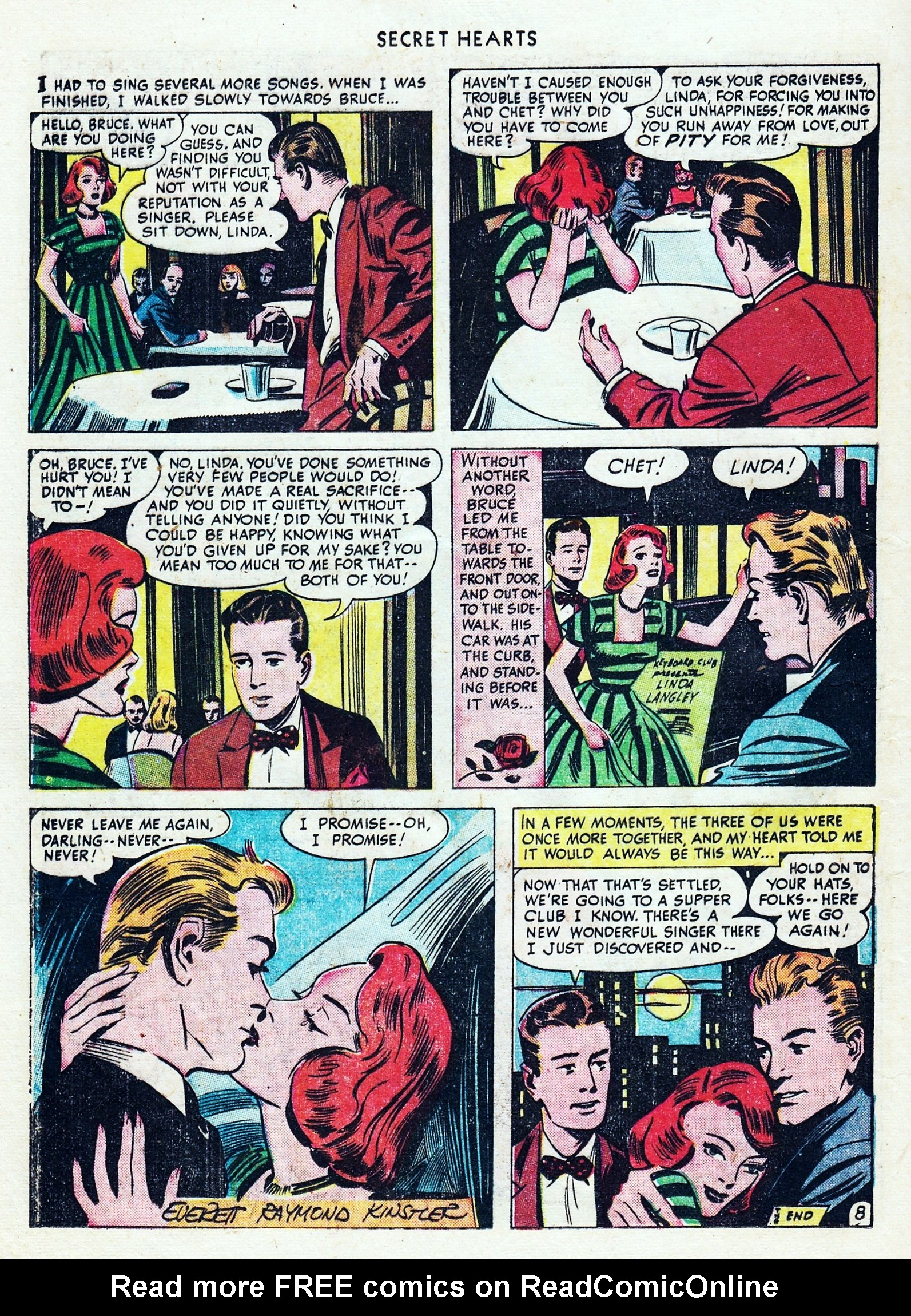 Read online Secret Hearts comic -  Issue #1 - 30