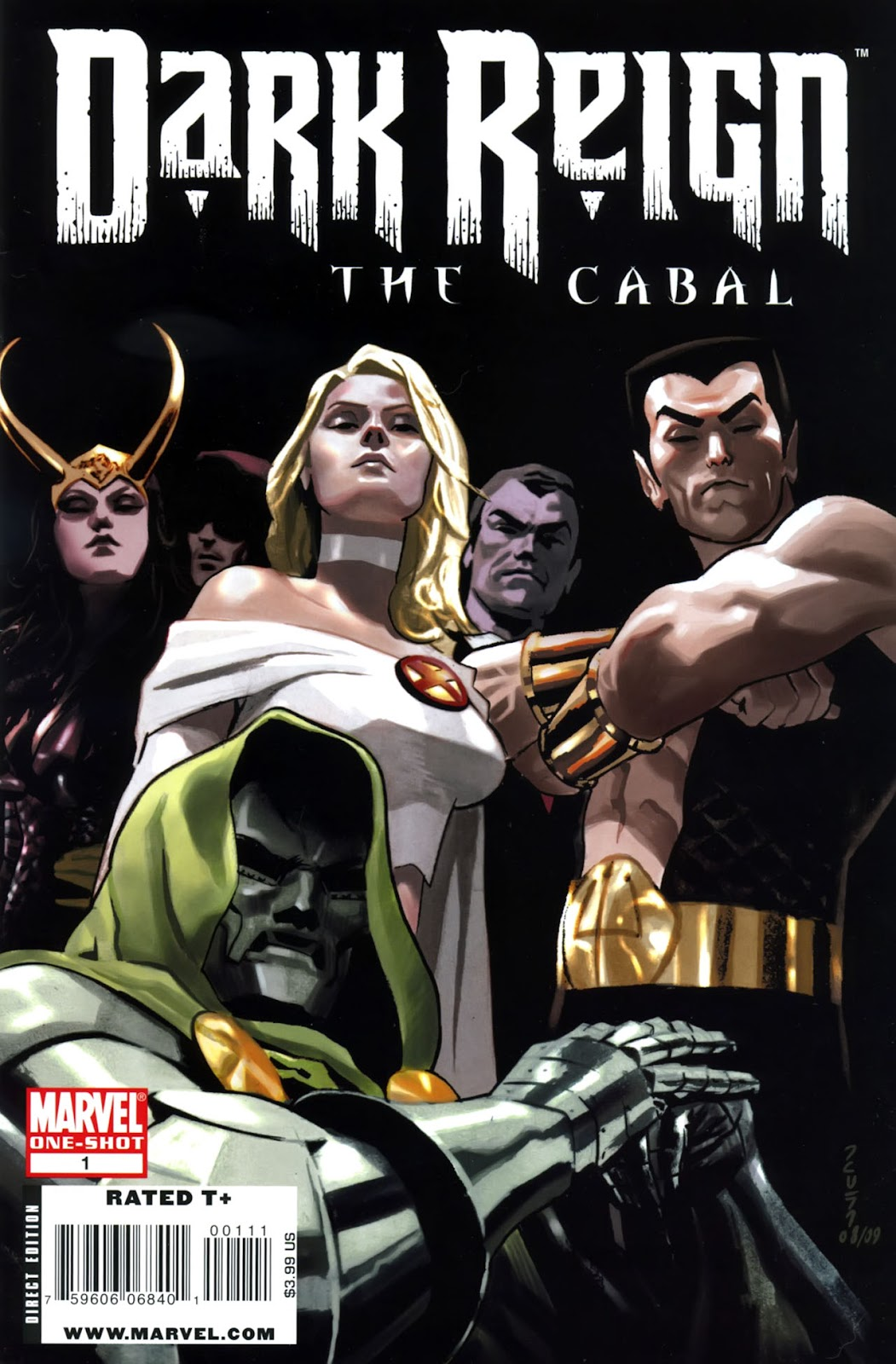 Dark Reign: The Cabal issue Full - Page 1