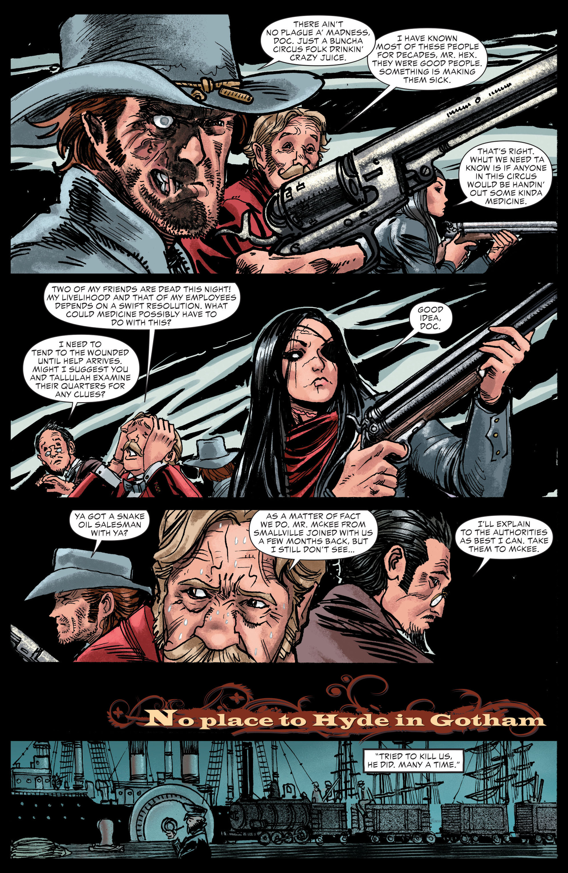 Read online All-Star Western (2011) comic -  Issue #13 - 19