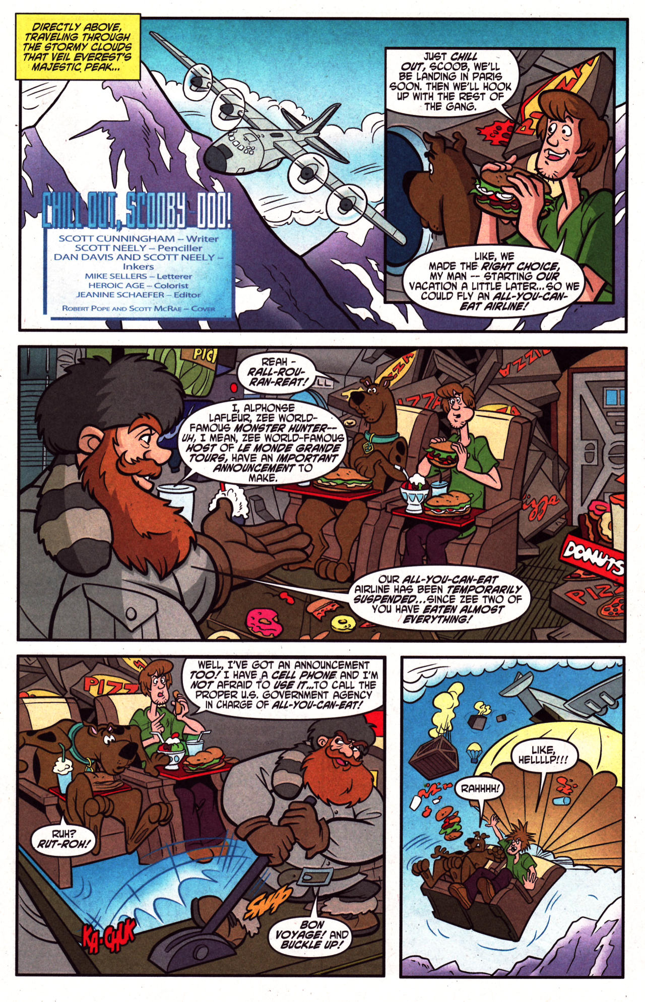 Read online Scooby-Doo (1997) comic -  Issue #124 - 3