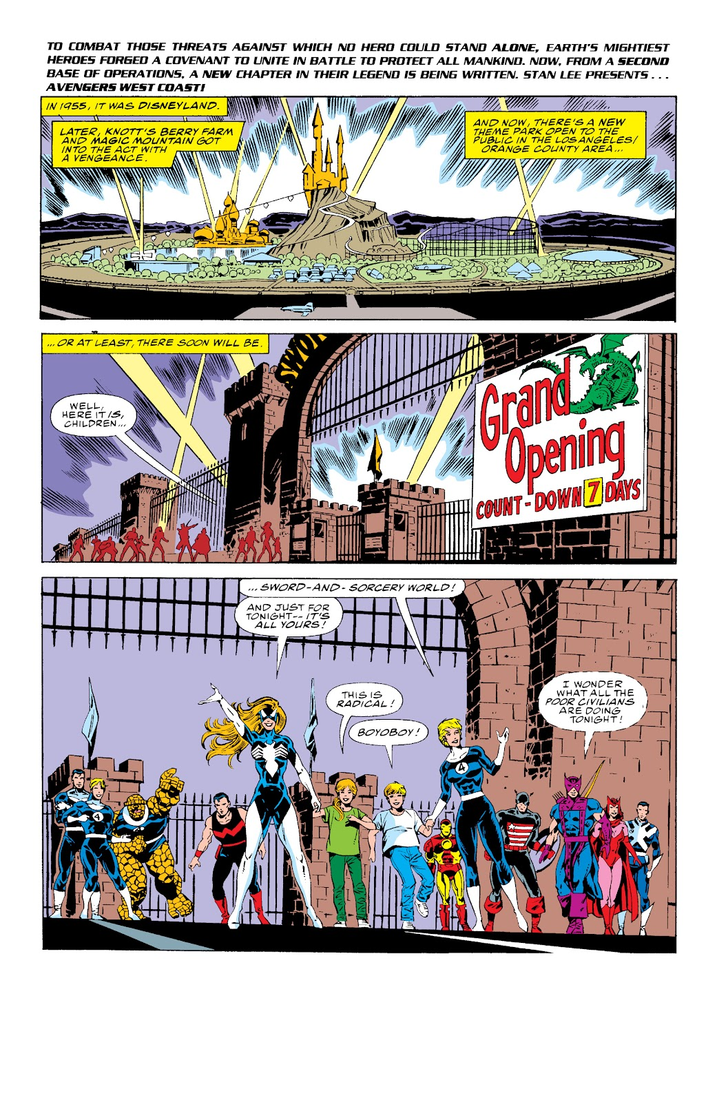 Avengers West Coast (1989) issue 75 - Page 2