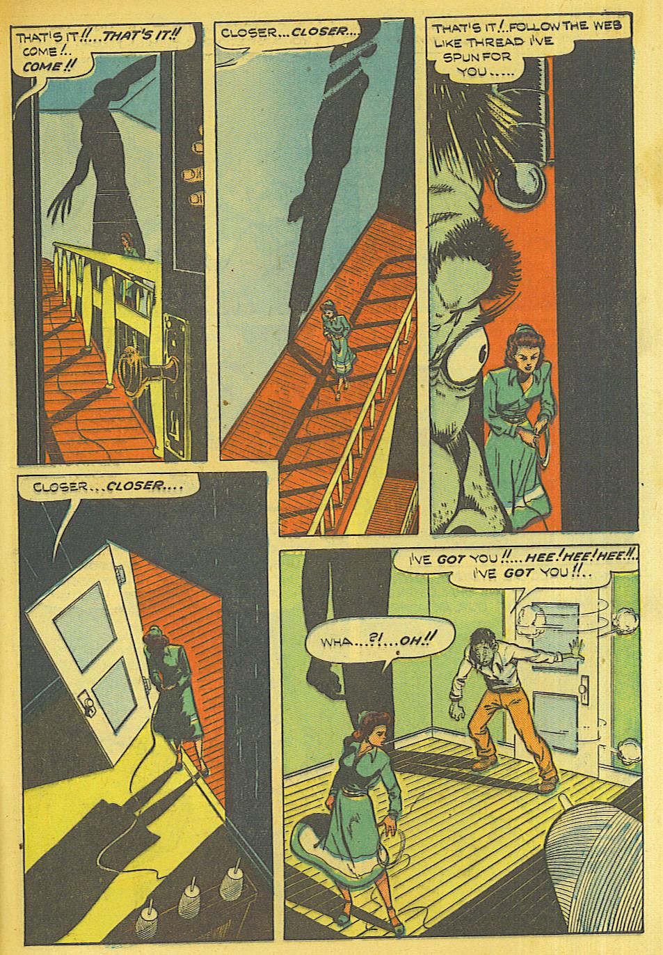 Read online Shadow Comics comic -  Issue #87 - 12