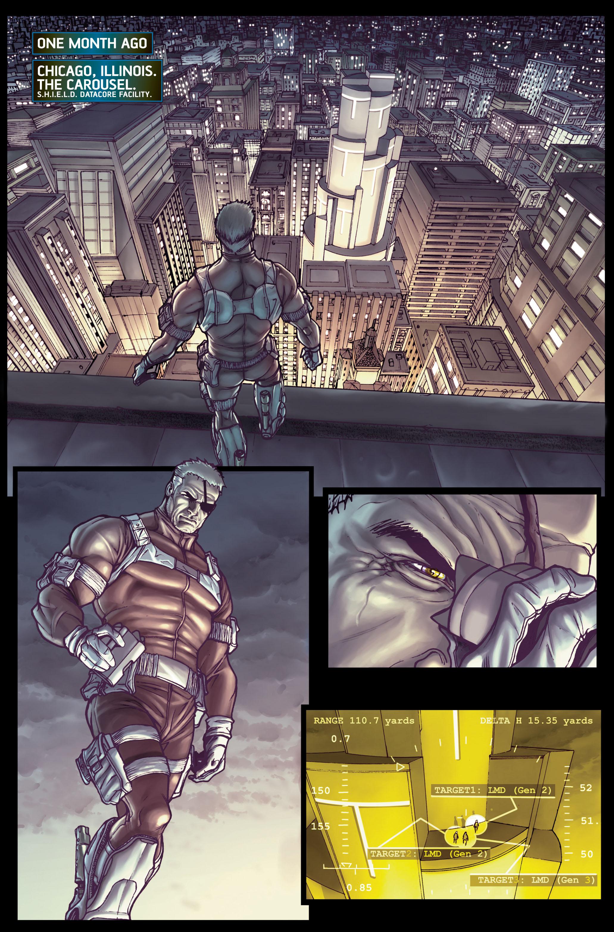 Read online Secret Warriors comic -  Issue #1 - 16