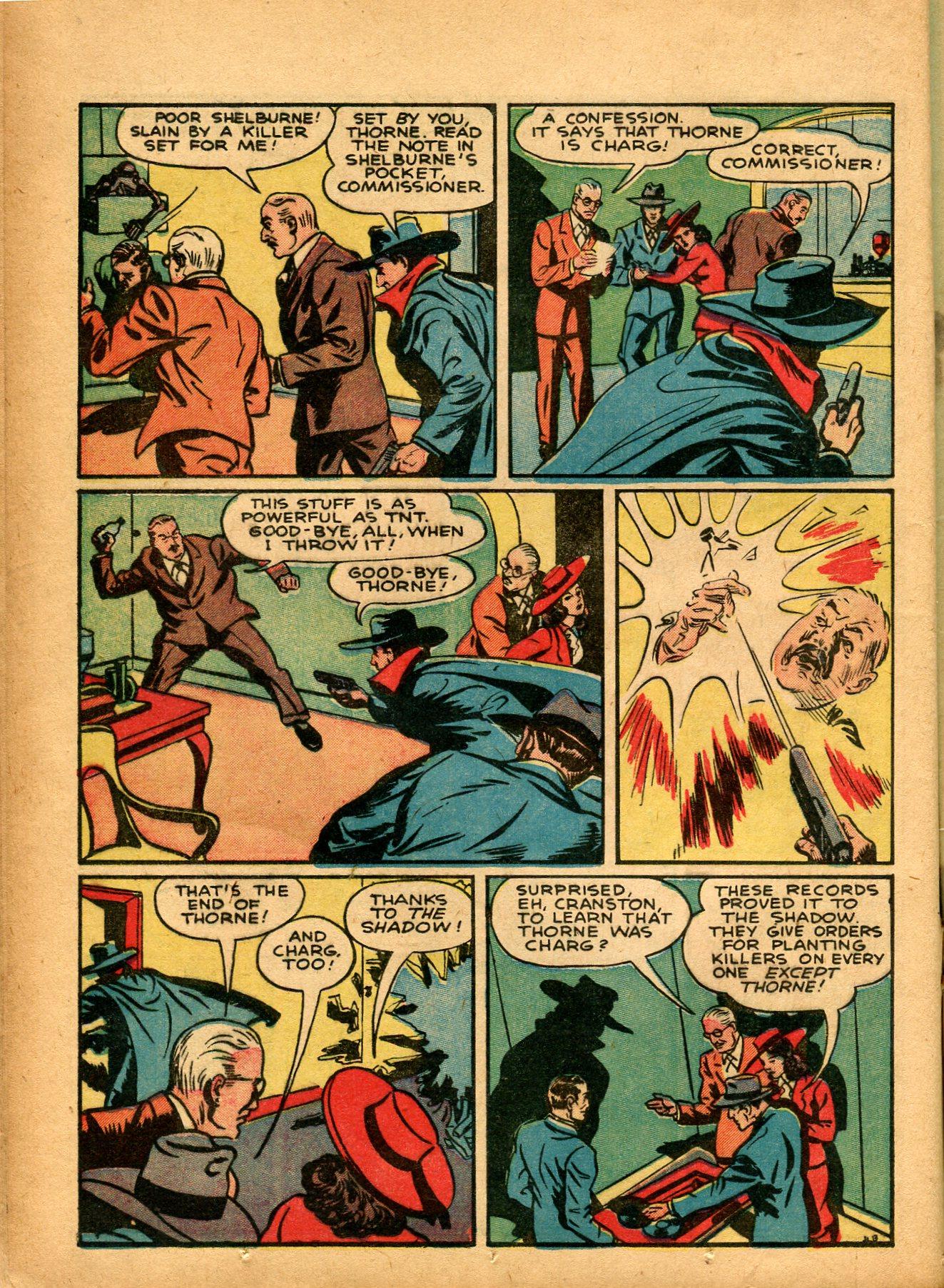 Read online Shadow Comics comic -  Issue #8 - 22