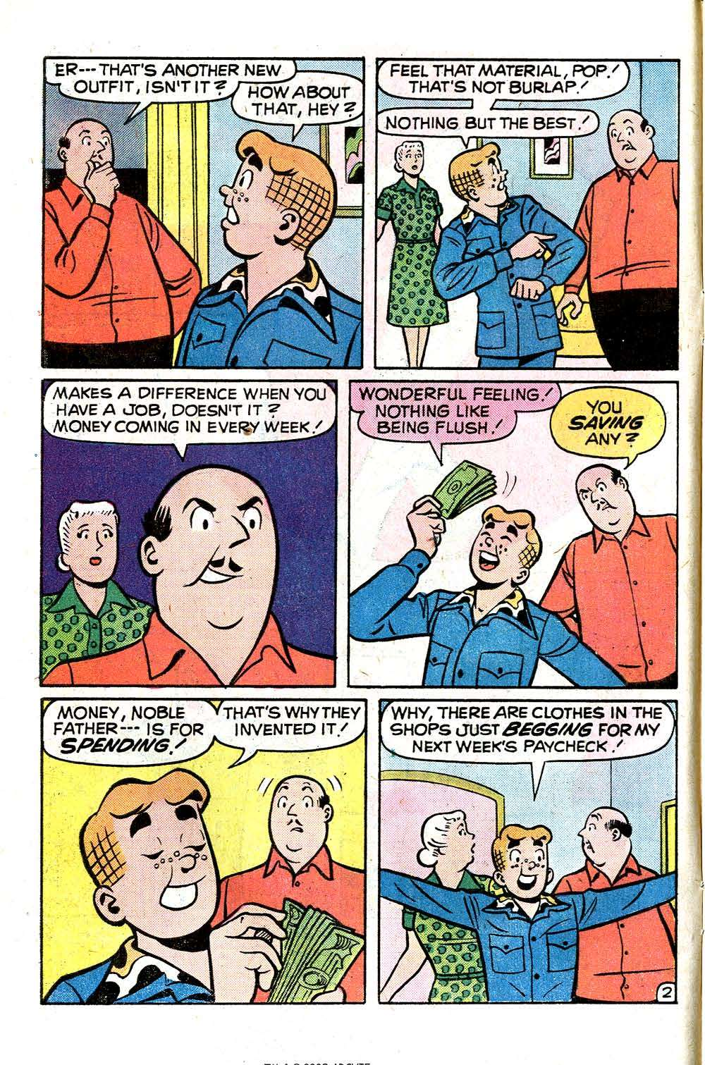 Read online Archie (1960) comic -  Issue #251 - 4