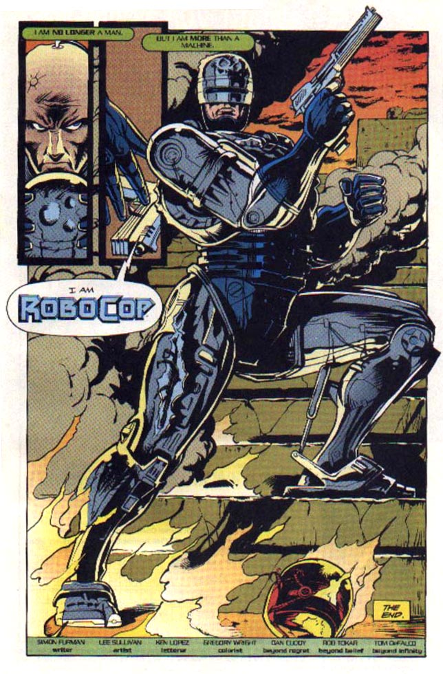 Read online Robocop (1990) comic -  Issue #23 - 23