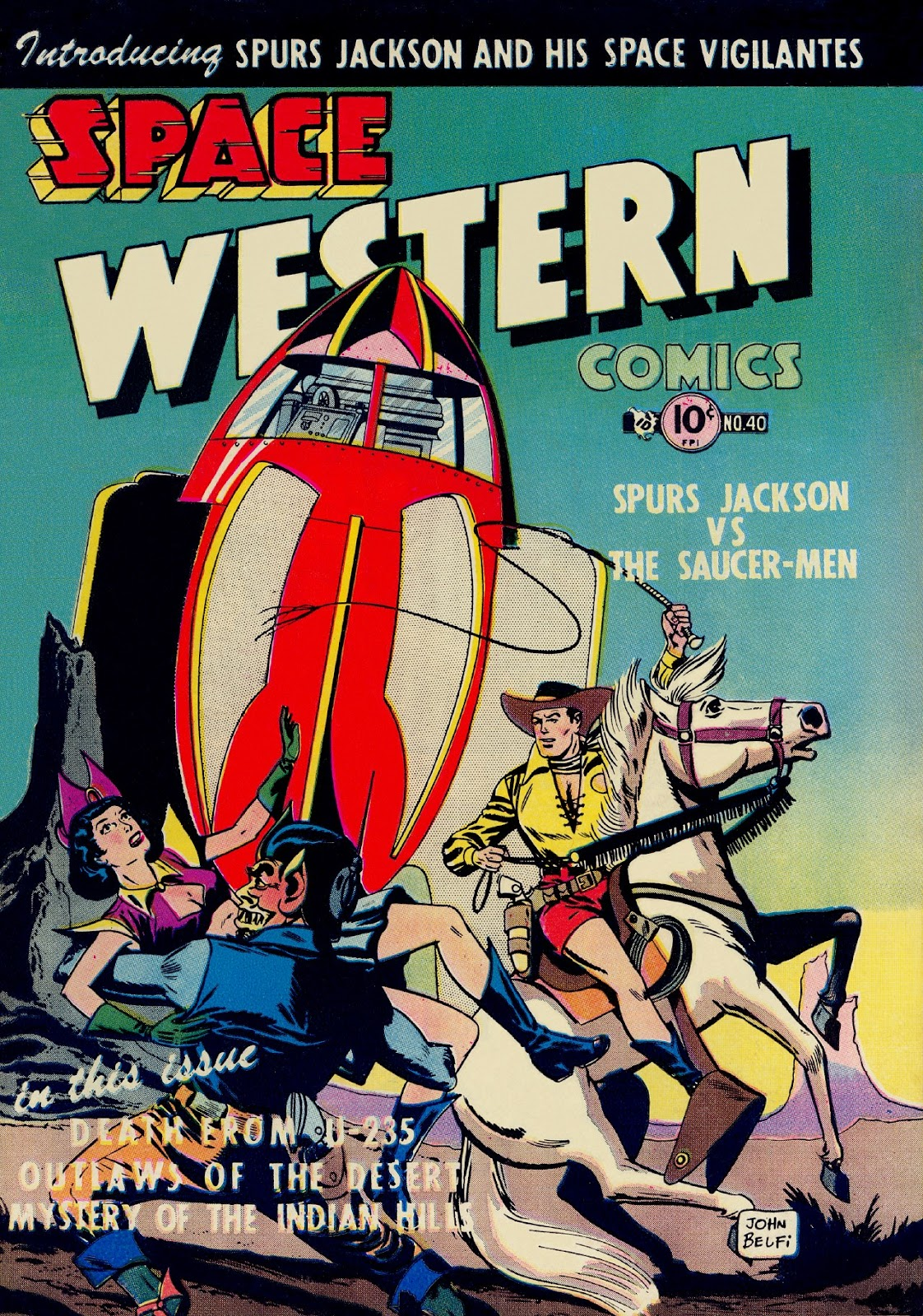 Space Western Comics issue 40 - Page 1