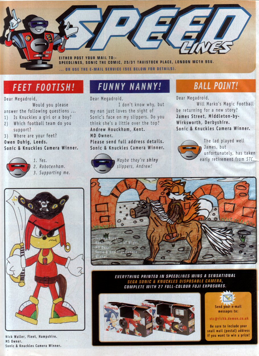 Read online Sonic the Comic comic -  Issue #73 - 31