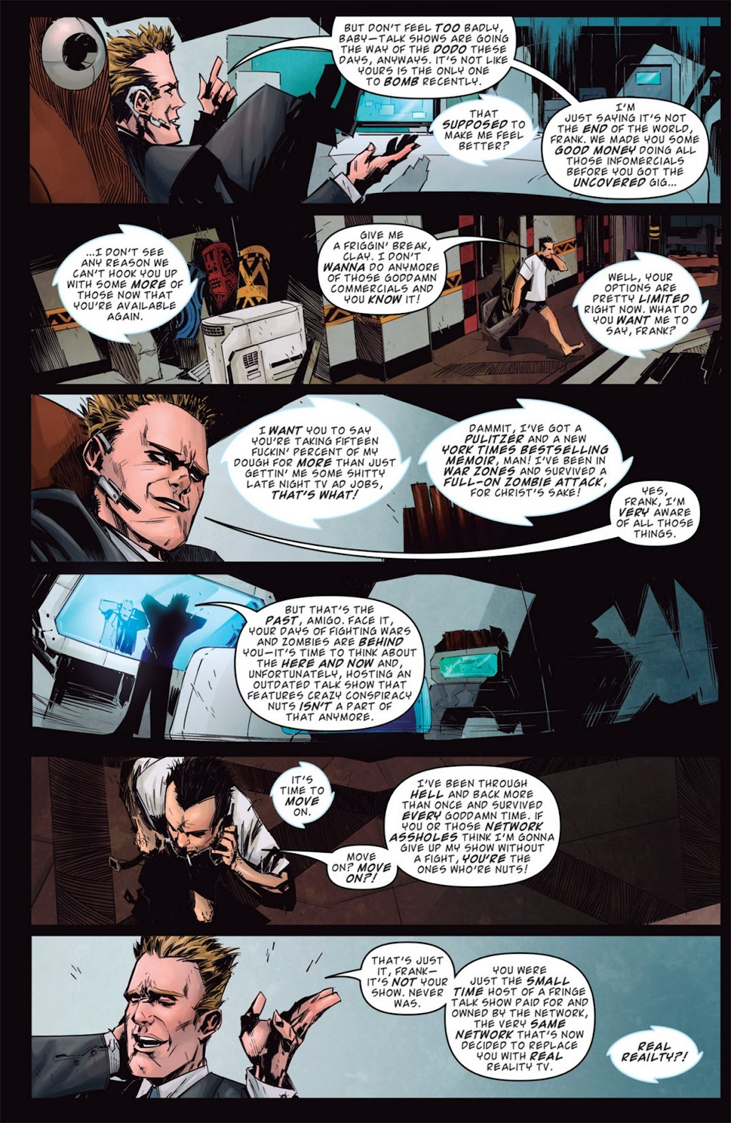 Read online Dead Rising: Road to Fortune comic -  Issue #1 - 20
