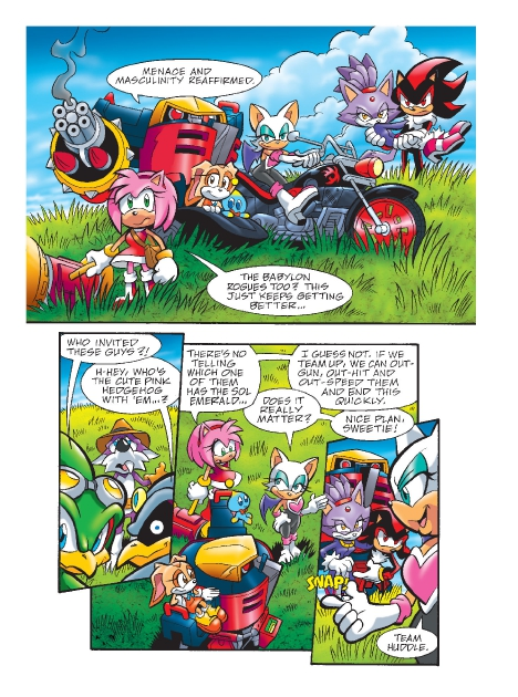 Read online Sonic Comics Spectacular: Speed of Sound comic -  Issue # Full - 188