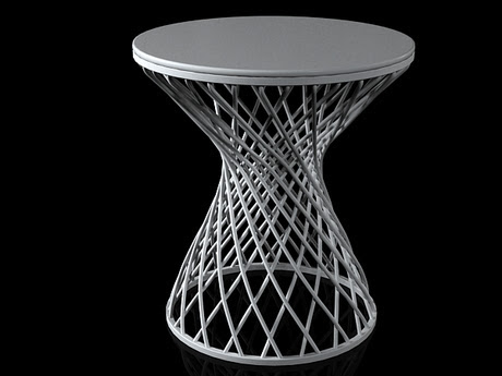 [3Dsmax] 3D model free - Heaven Occasional Table 495s