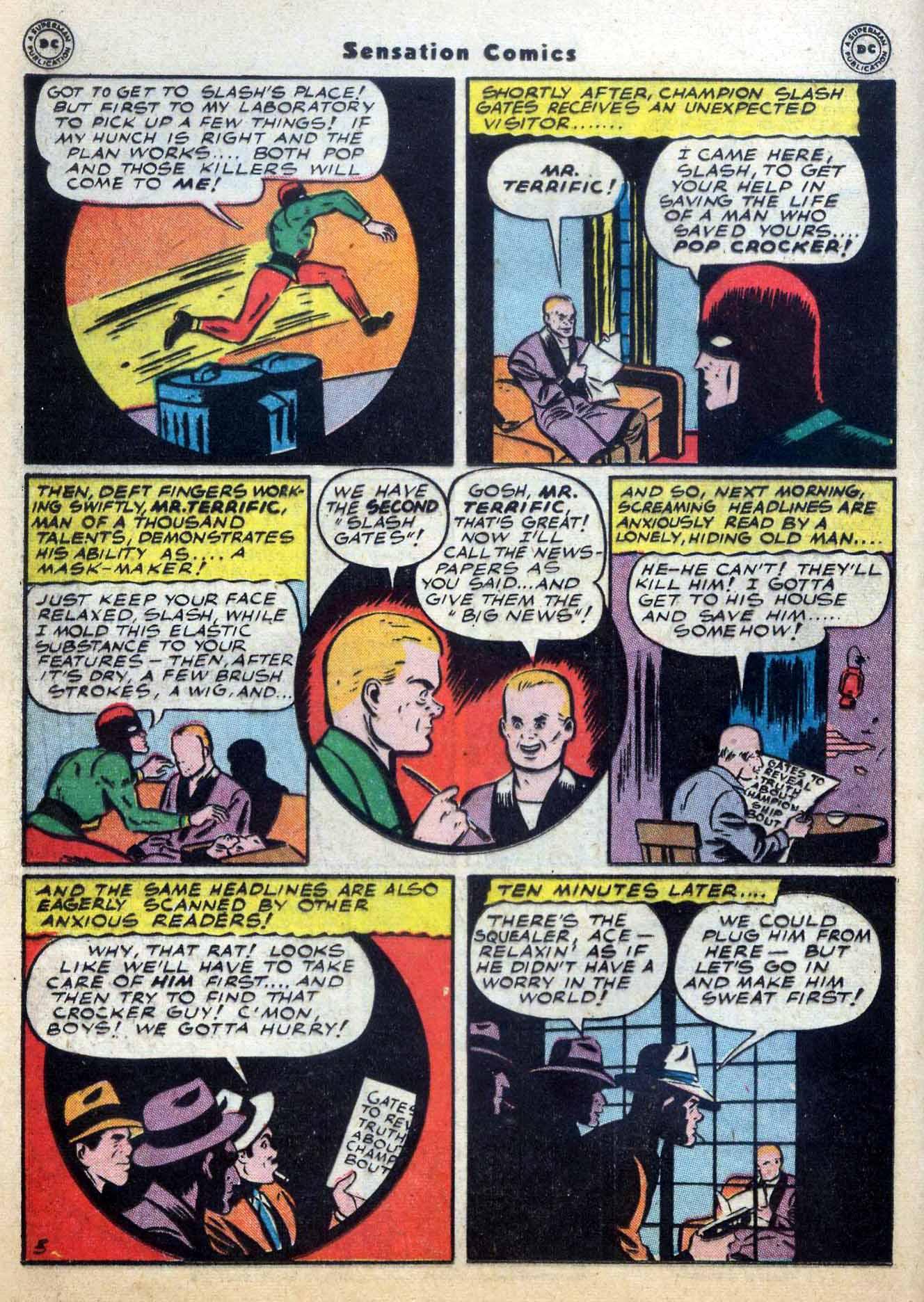 Read online Sensation (Mystery) Comics comic -  Issue #59 - 36