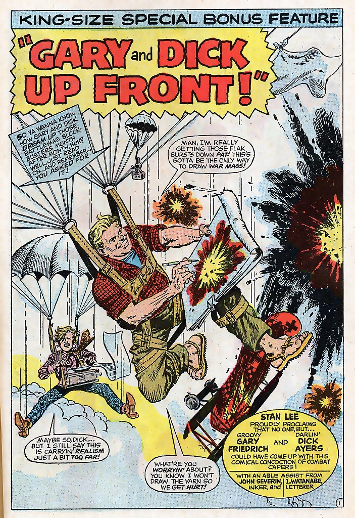 Read online Sgt. Fury comic -  Issue # _Special 4 - 61
