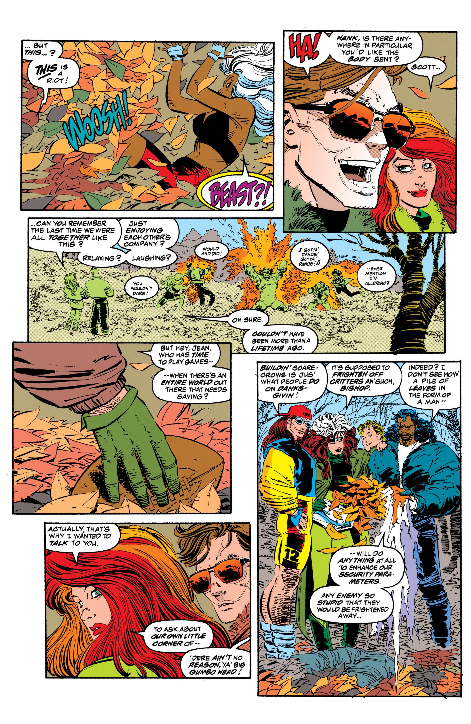 Read online Uncanny X-Men (1963) comic -  Issue #308 - 6