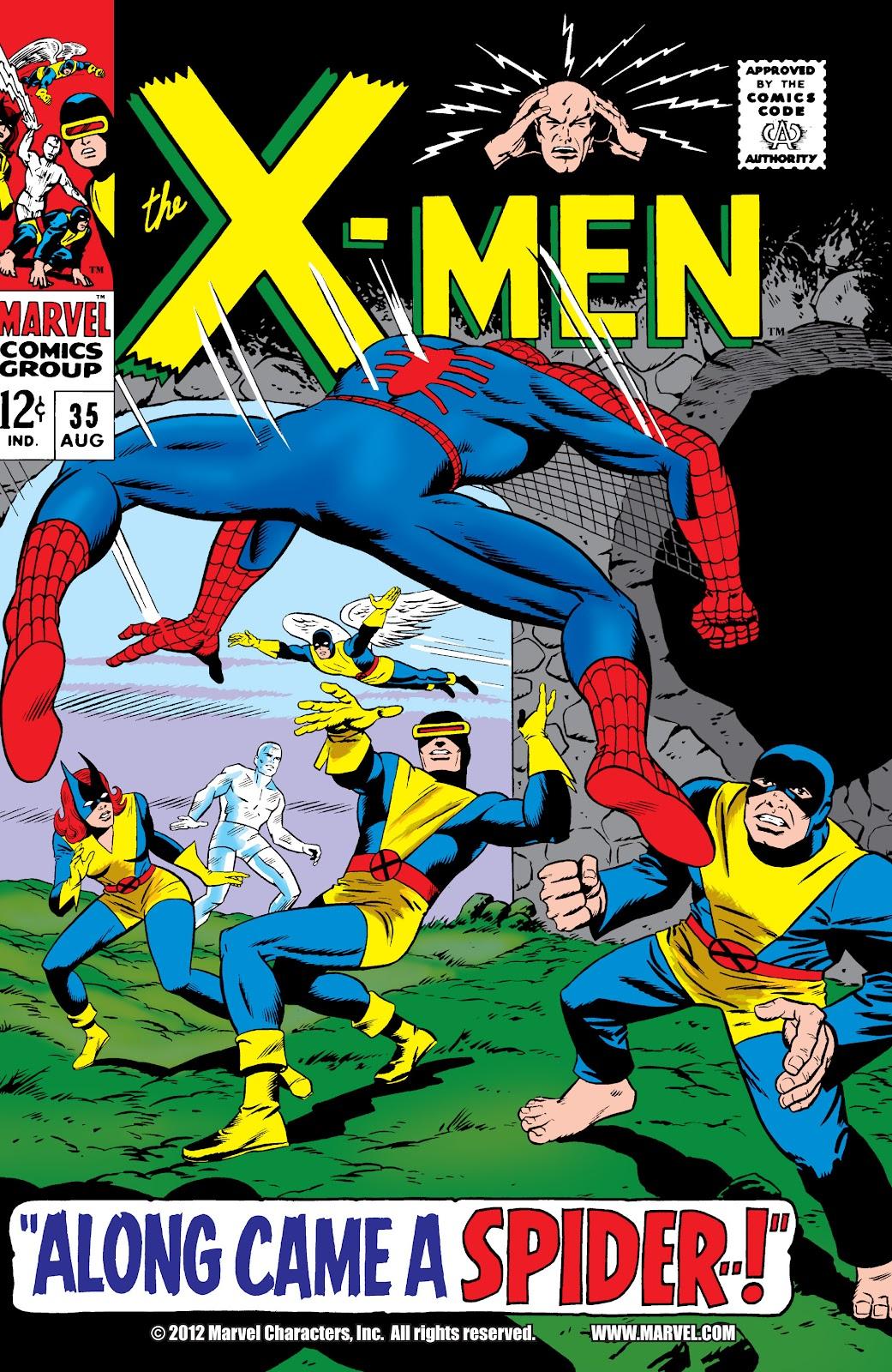 Uncanny X-Men (1963) issue 35 - Page 1