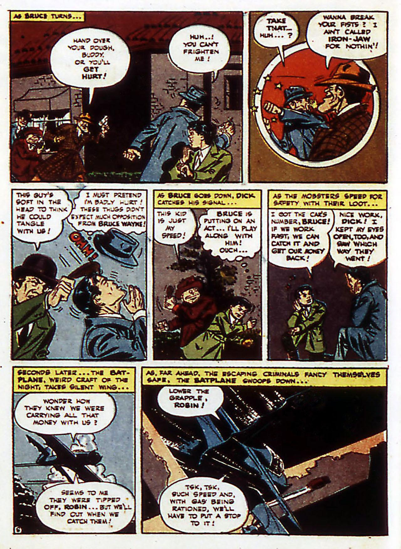 Read online Detective Comics (1937) comic -  Issue #72 - 11