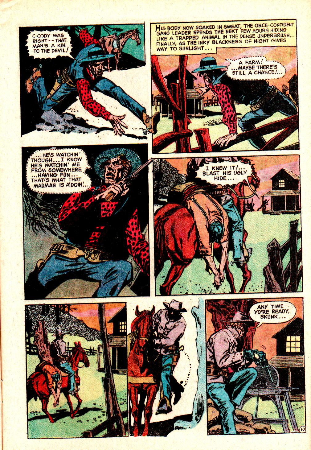 Read online All-Star Western (1970) comic -  Issue #10 - 13