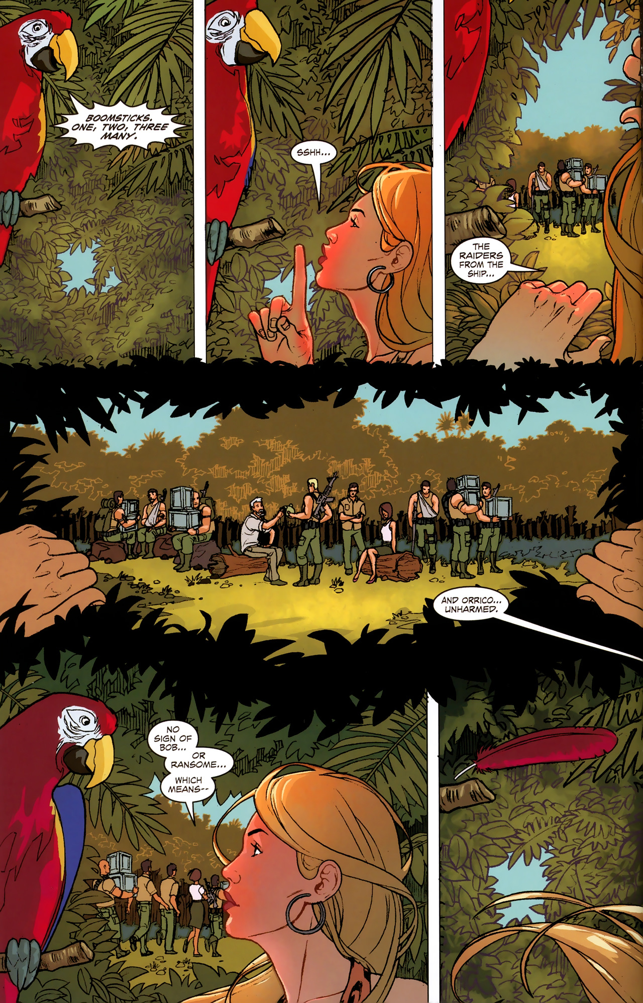 Read online Sheena Queen of the Jungle: Dark Rising comic -  Issue #2 - 11