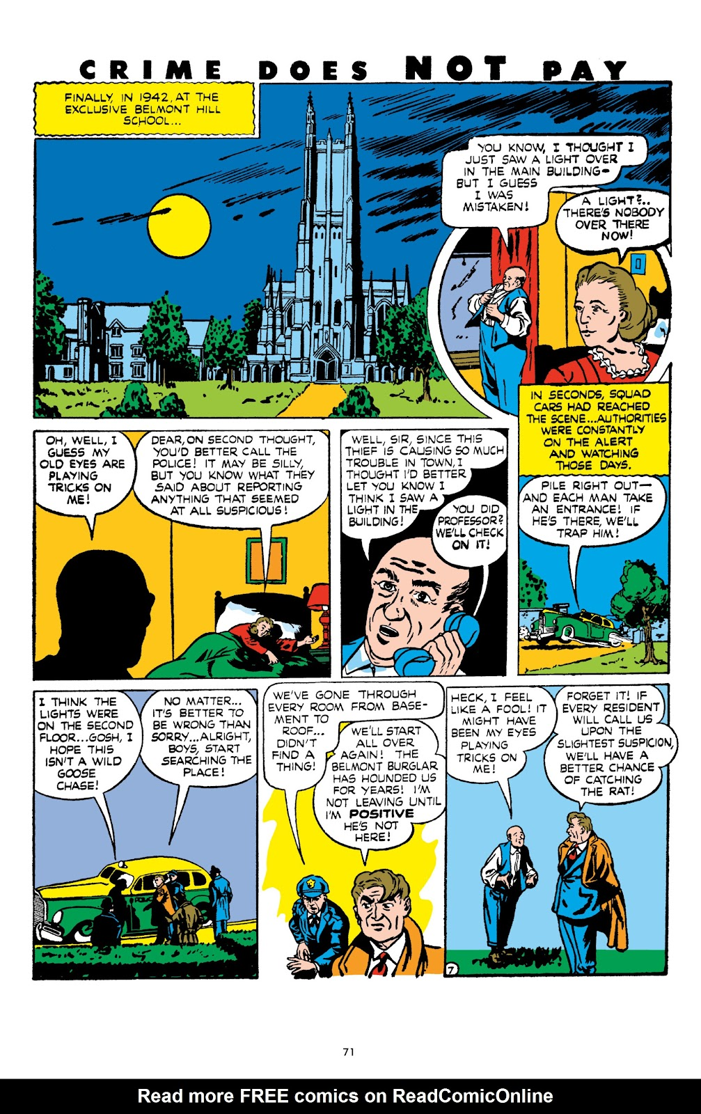 Read online Crime Does Not Pay Archives comic -  Issue # TPB 8 (Part 1) - 72