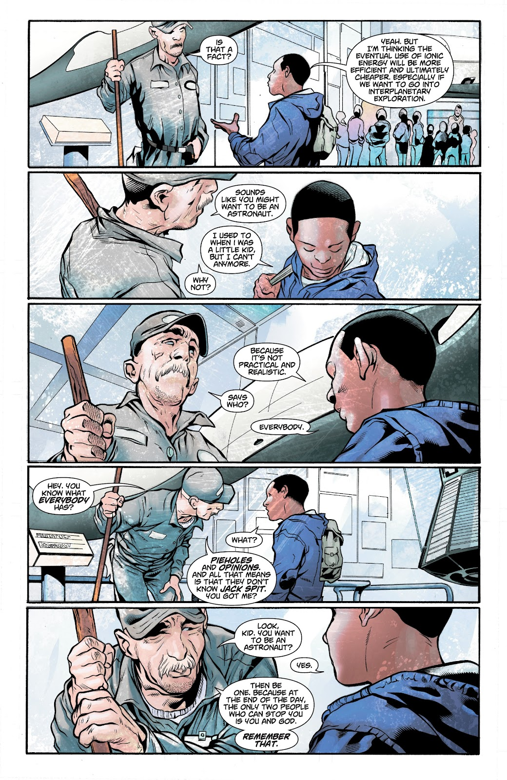 Read online Noble comic -  Issue #15 - 8