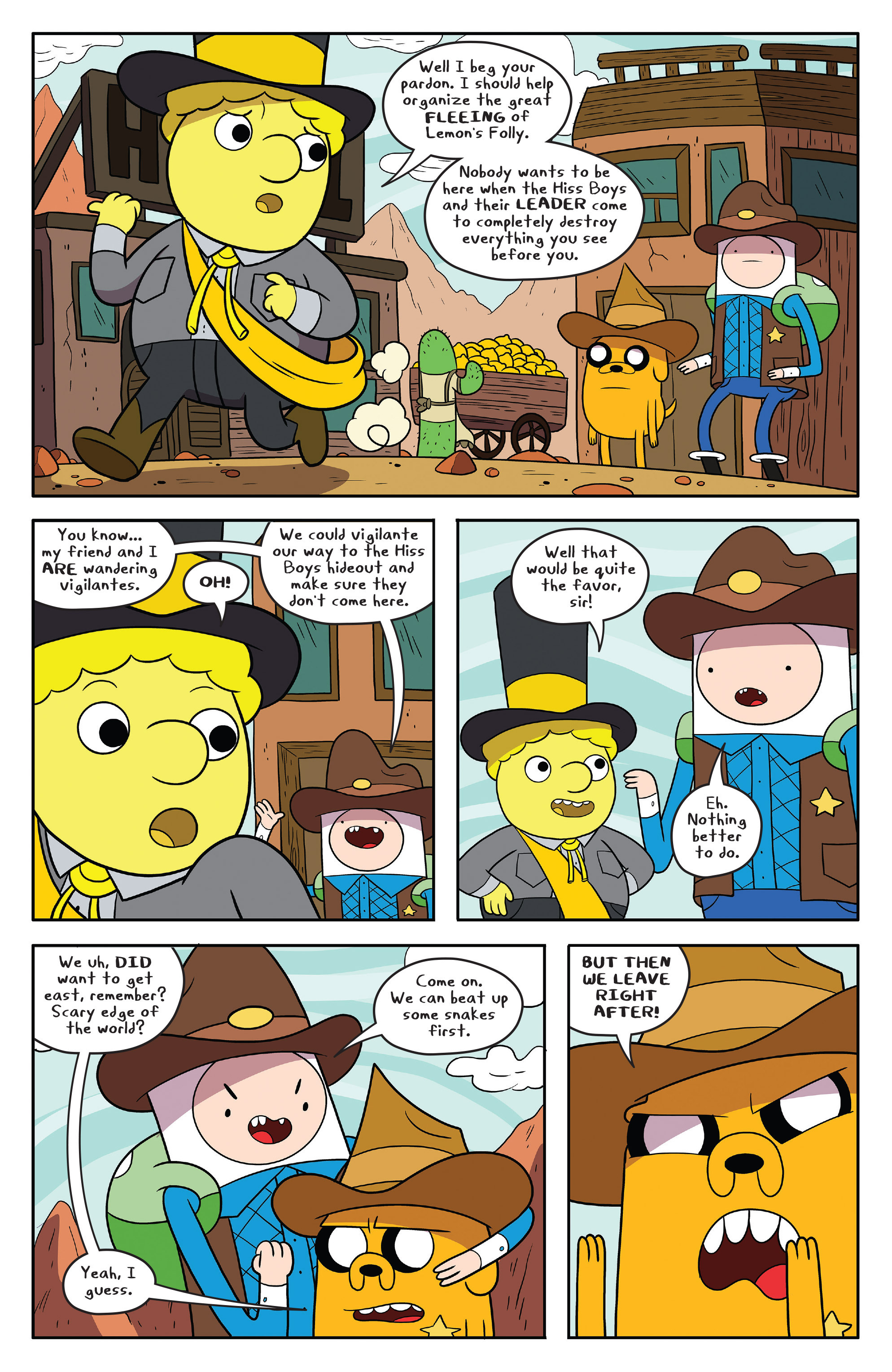 Read online Adventure Time comic -  Issue #54 - 14