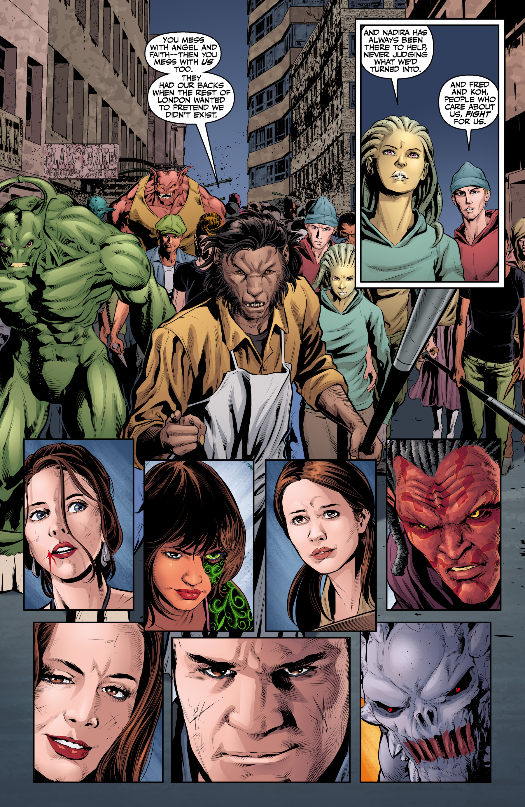 Read online Angel & Faith Season 10 comic -  Issue #25 - 5
