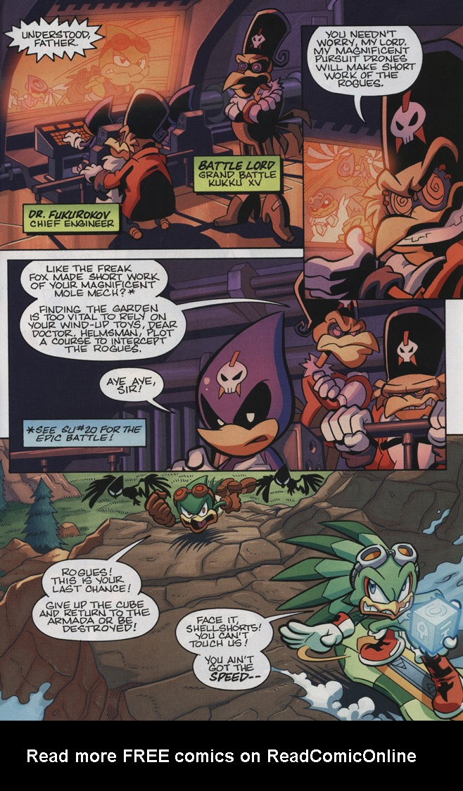 Read online Sonic Universe comic -  Issue #34 - 9