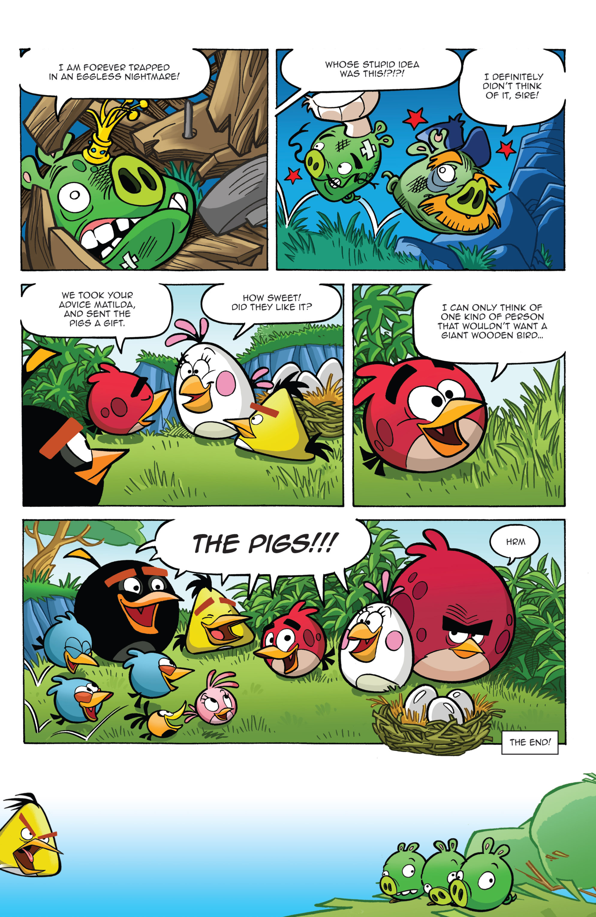 Read online Angry Birds Comics (2014) comic -  Issue #2 - 15