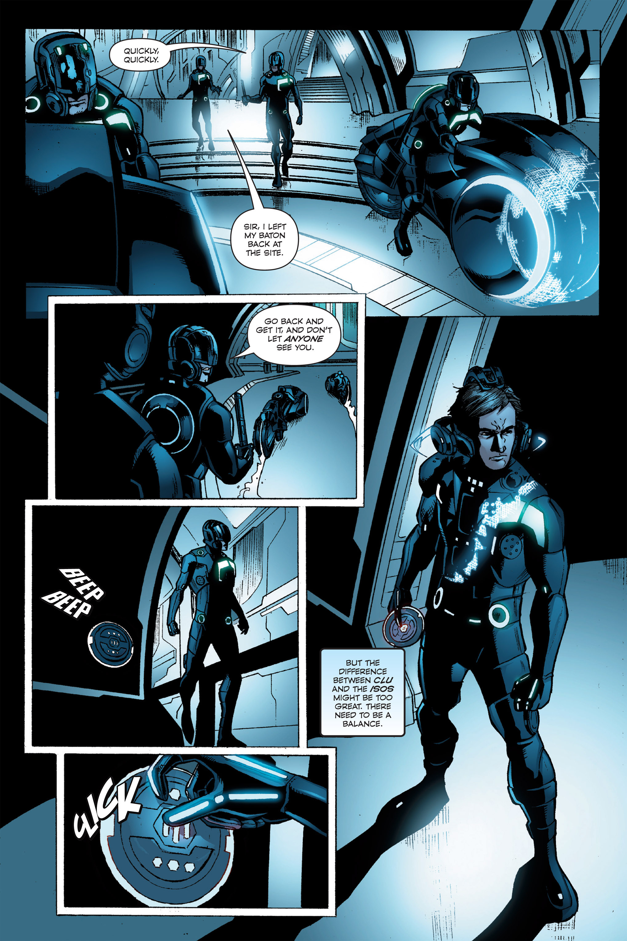 Read online TRON: Betrayal comic -  Issue # TPB - 92