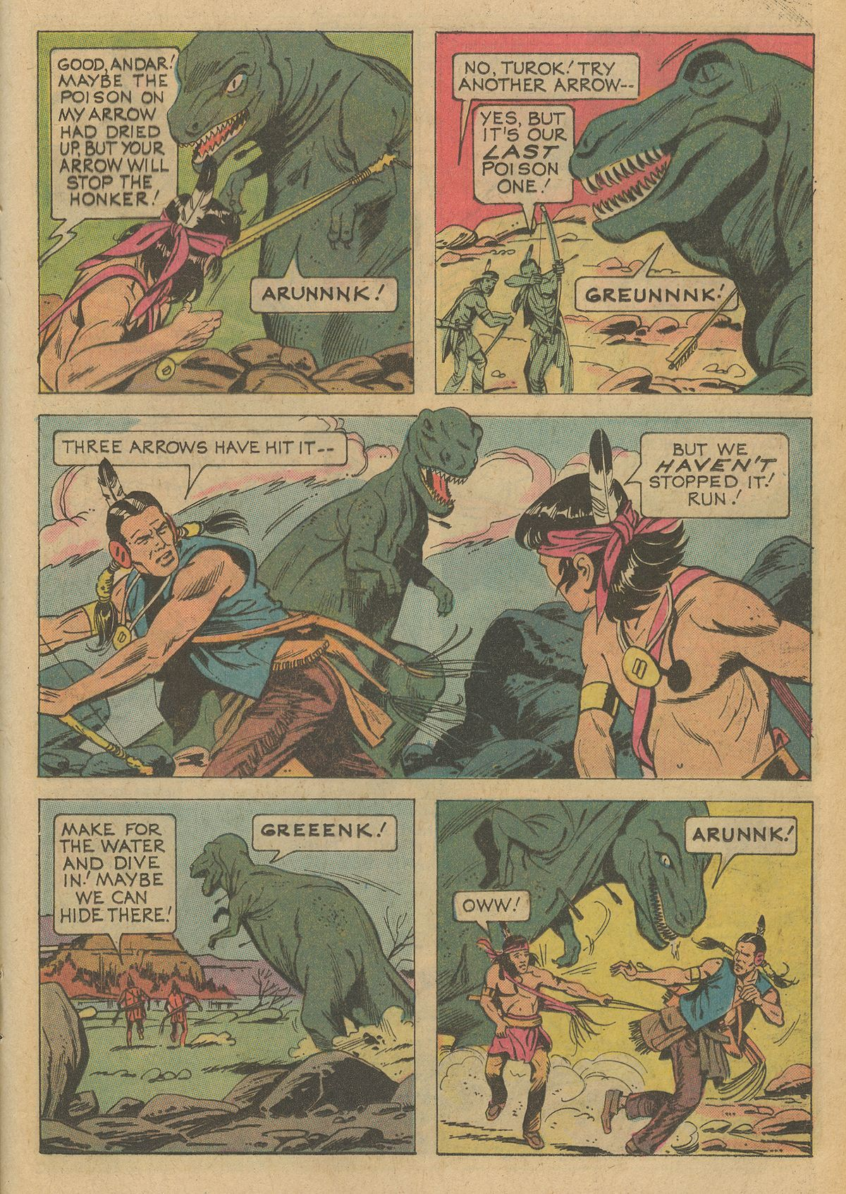 Read online Turok, Son of Stone comic -  Issue #95 - 21
