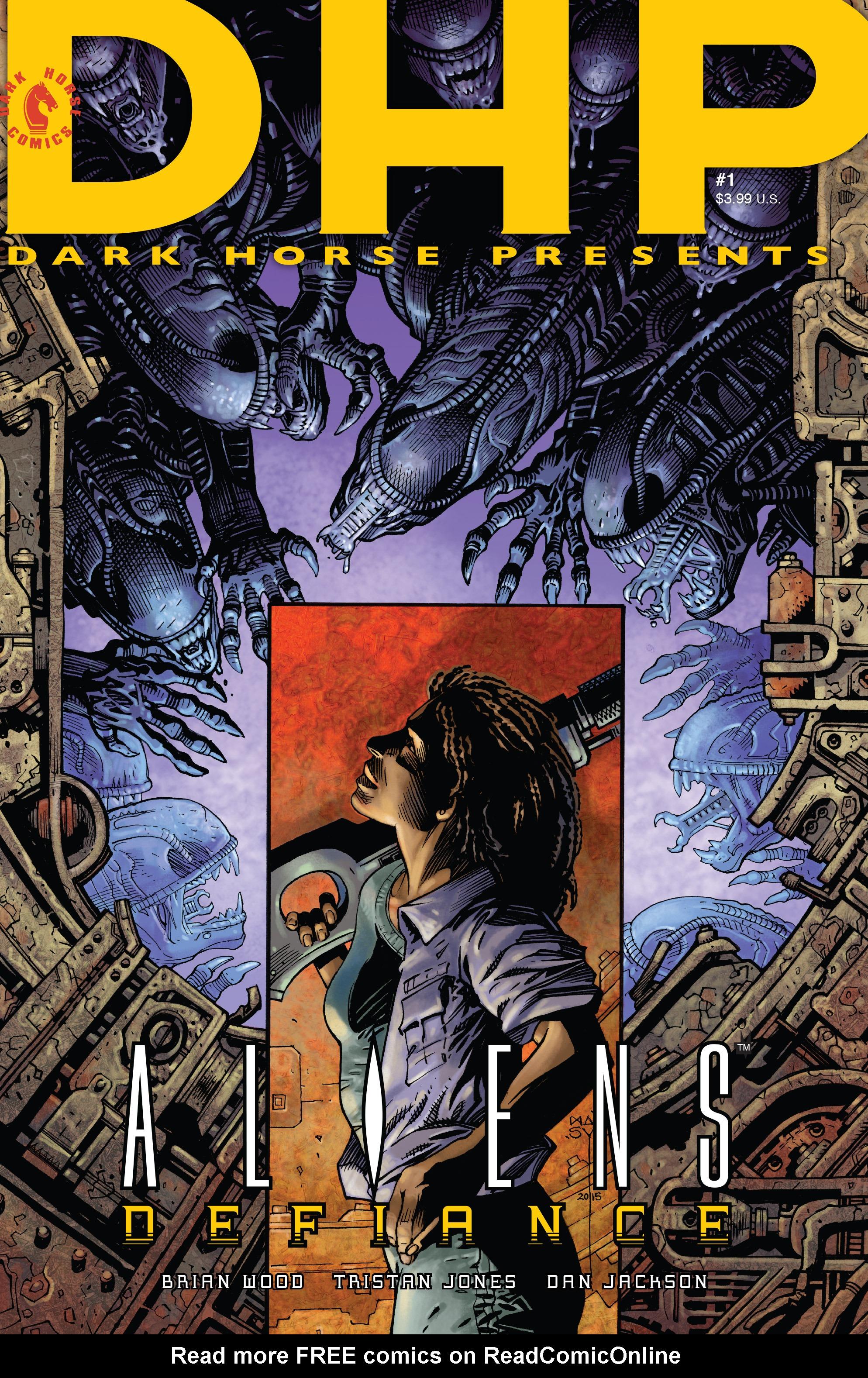 Read online Aliens: Defiance comic -  Issue #1 - 2
