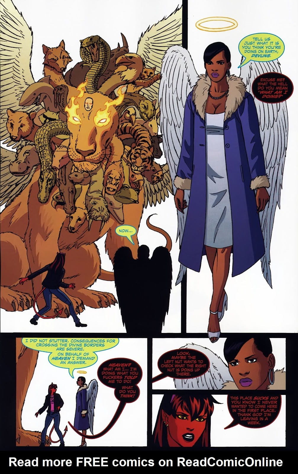 Read online Mercy Sparx (2008) comic -  Issue #3 - 9