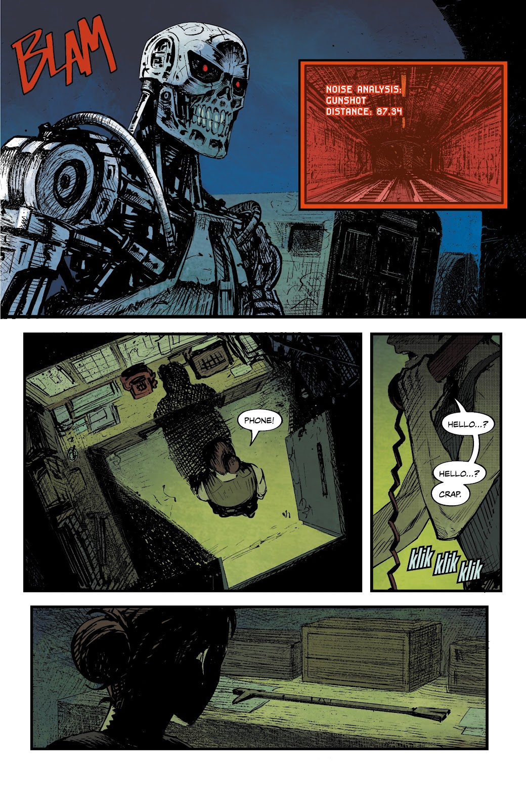 Read online The Terminator: Sector War comic -  Issue #4 - 5