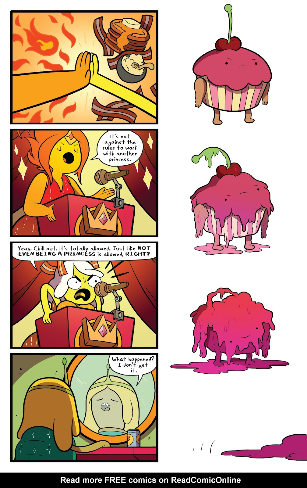 Read online Adventure Time comic -  Issue #63 - 19