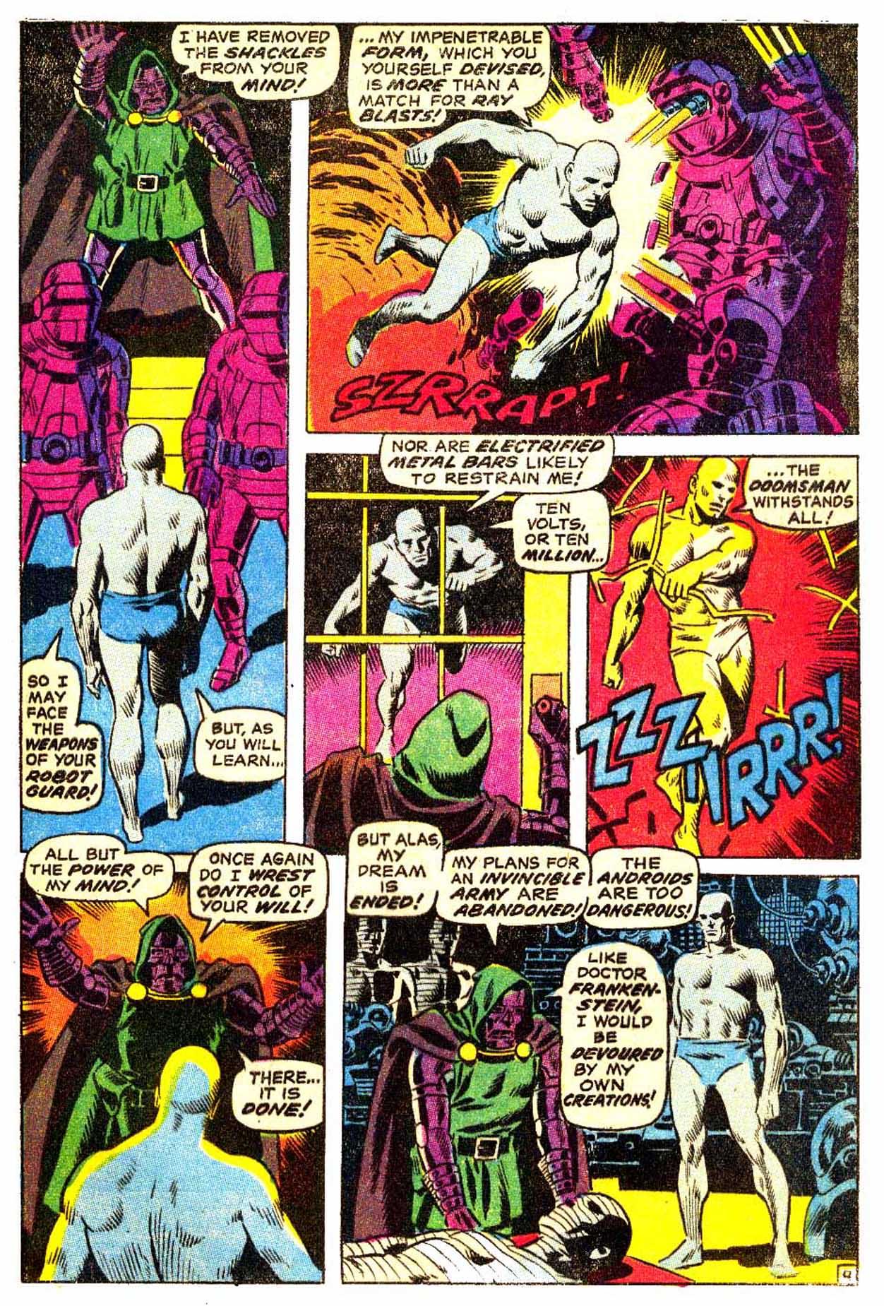 Read online Astonishing Tales (1970) comic -  Issue #3 - 10