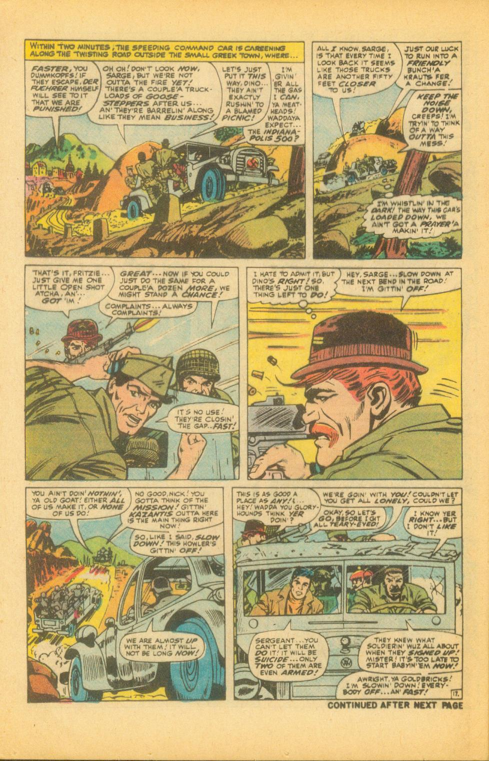 Read online Sgt. Fury comic -  Issue #99 - 24