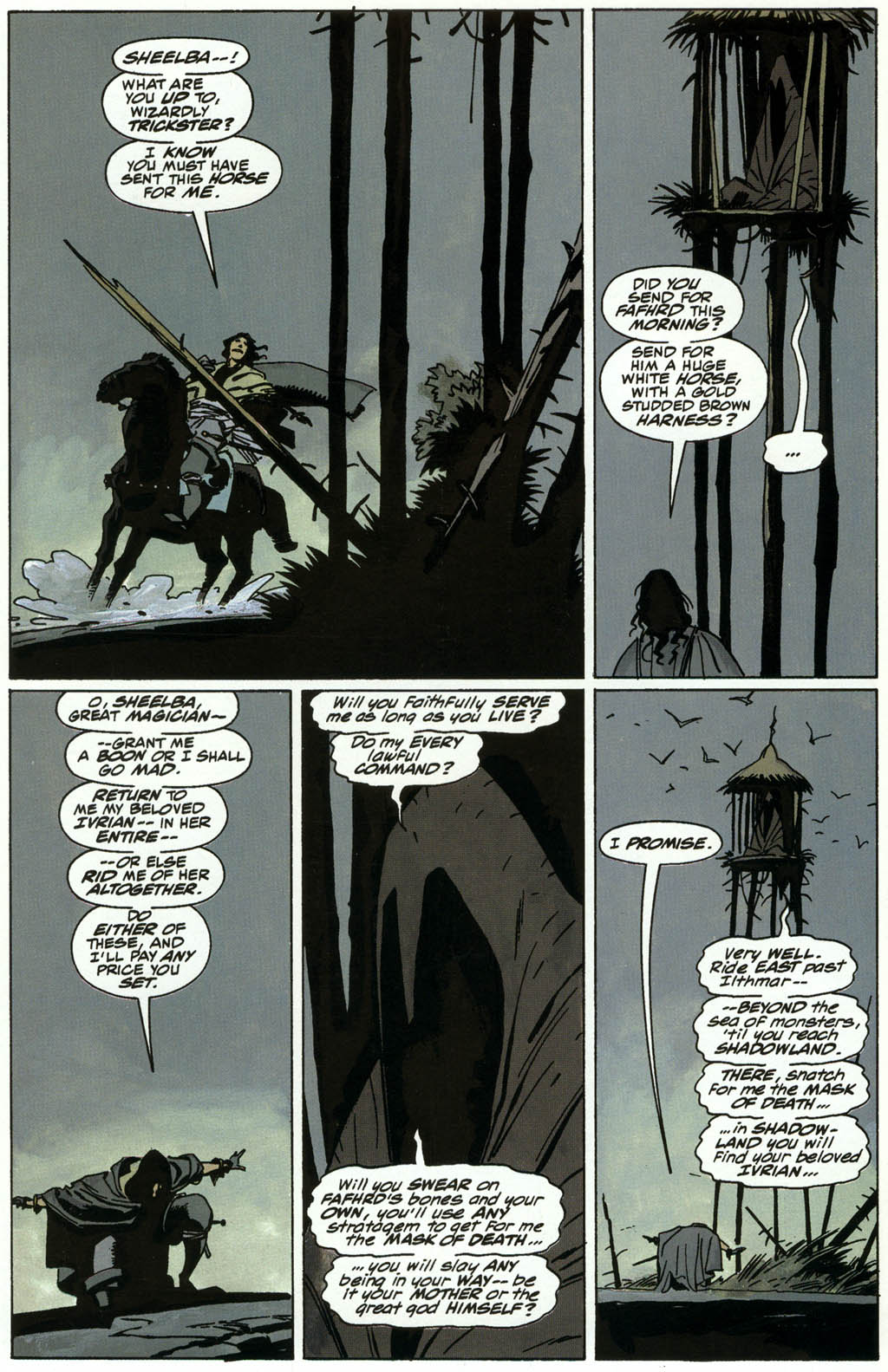 Read online Fafhrd and the Gray Mouser comic -  Issue #3 - 14