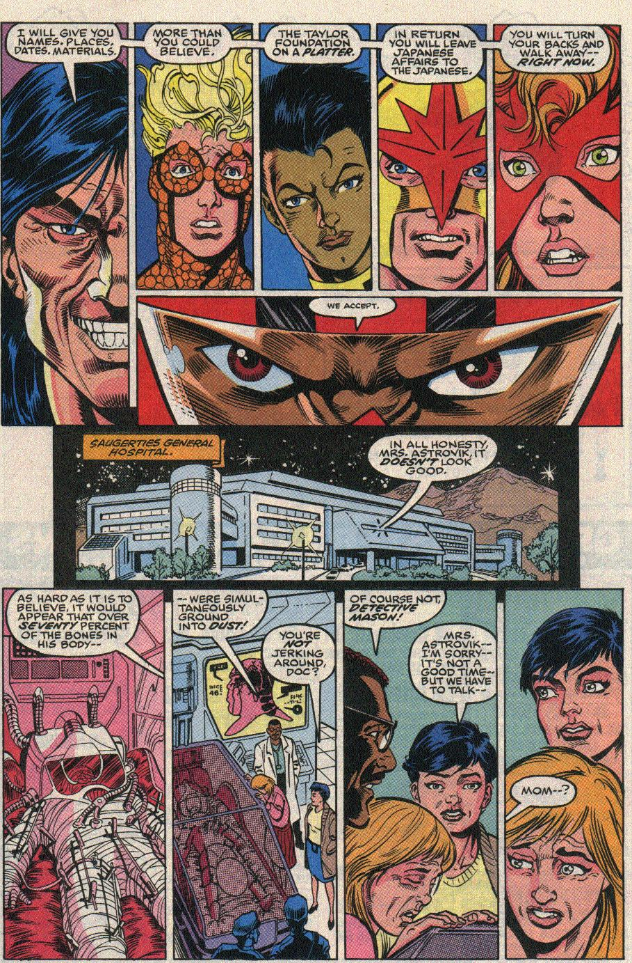 The New Warriors Issue #20 #24 - English 18