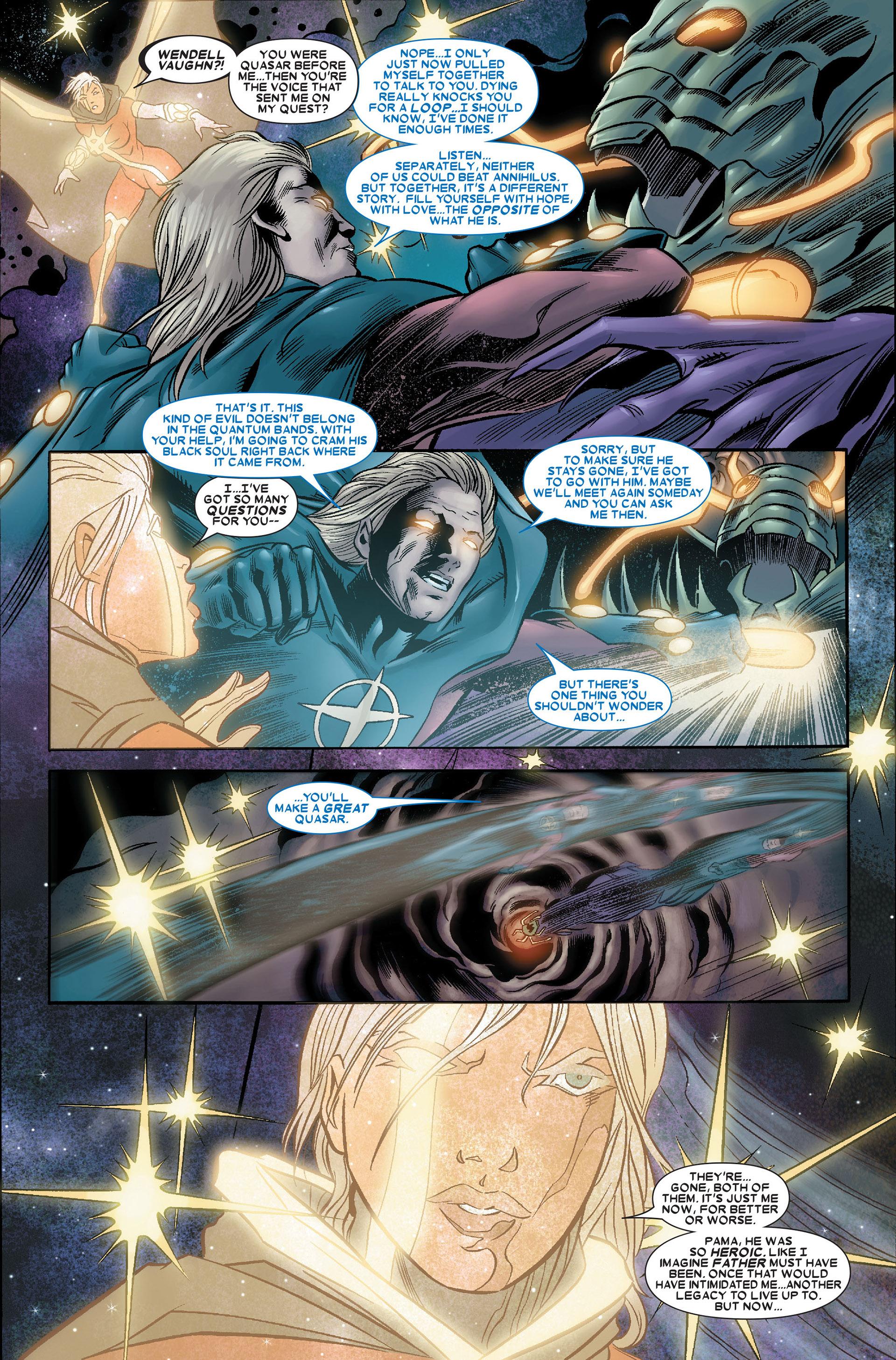 Read online Annihilation: Conquest - Quasar comic -  Issue #4 - 15