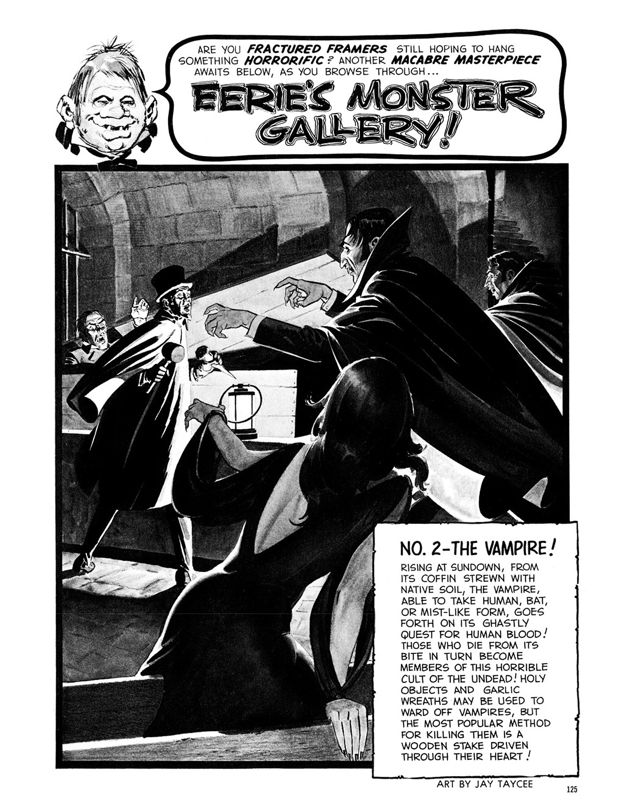 Read online Eerie Archives comic -  Issue # TPB 1 - 126